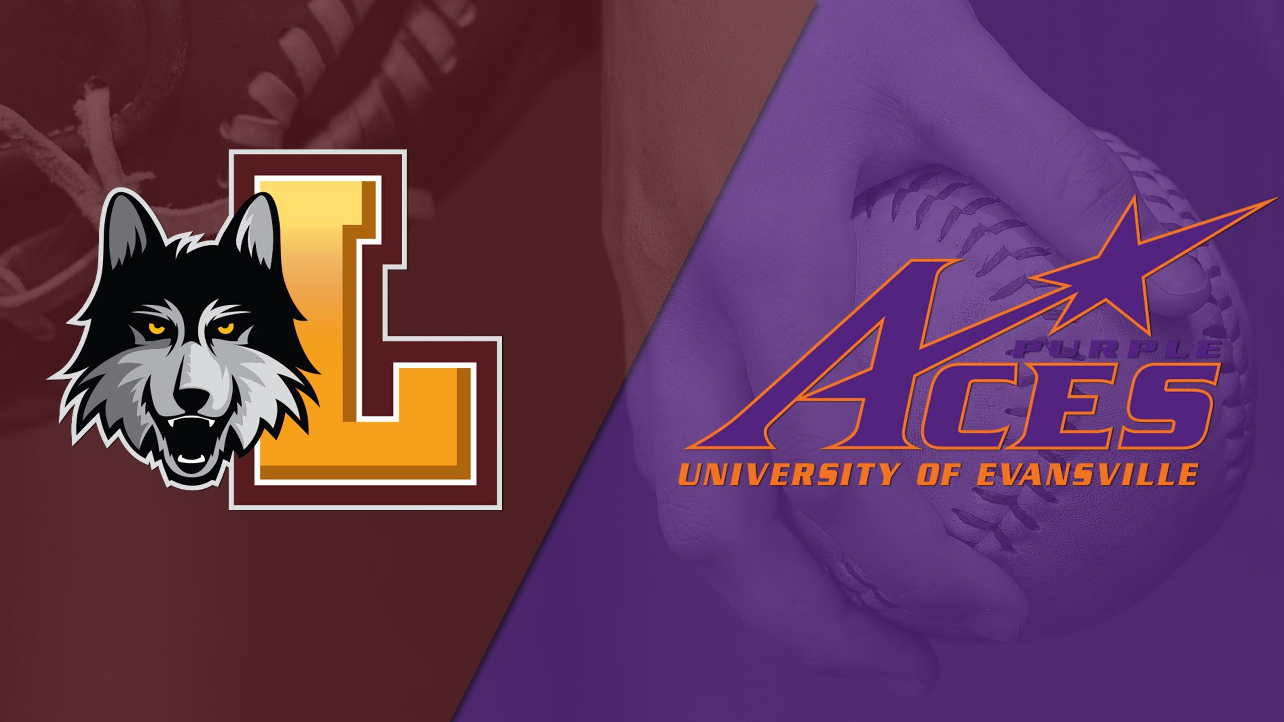 Loyola-Chicago vs. Evansville (Game #1) (MVC Softball Championship)