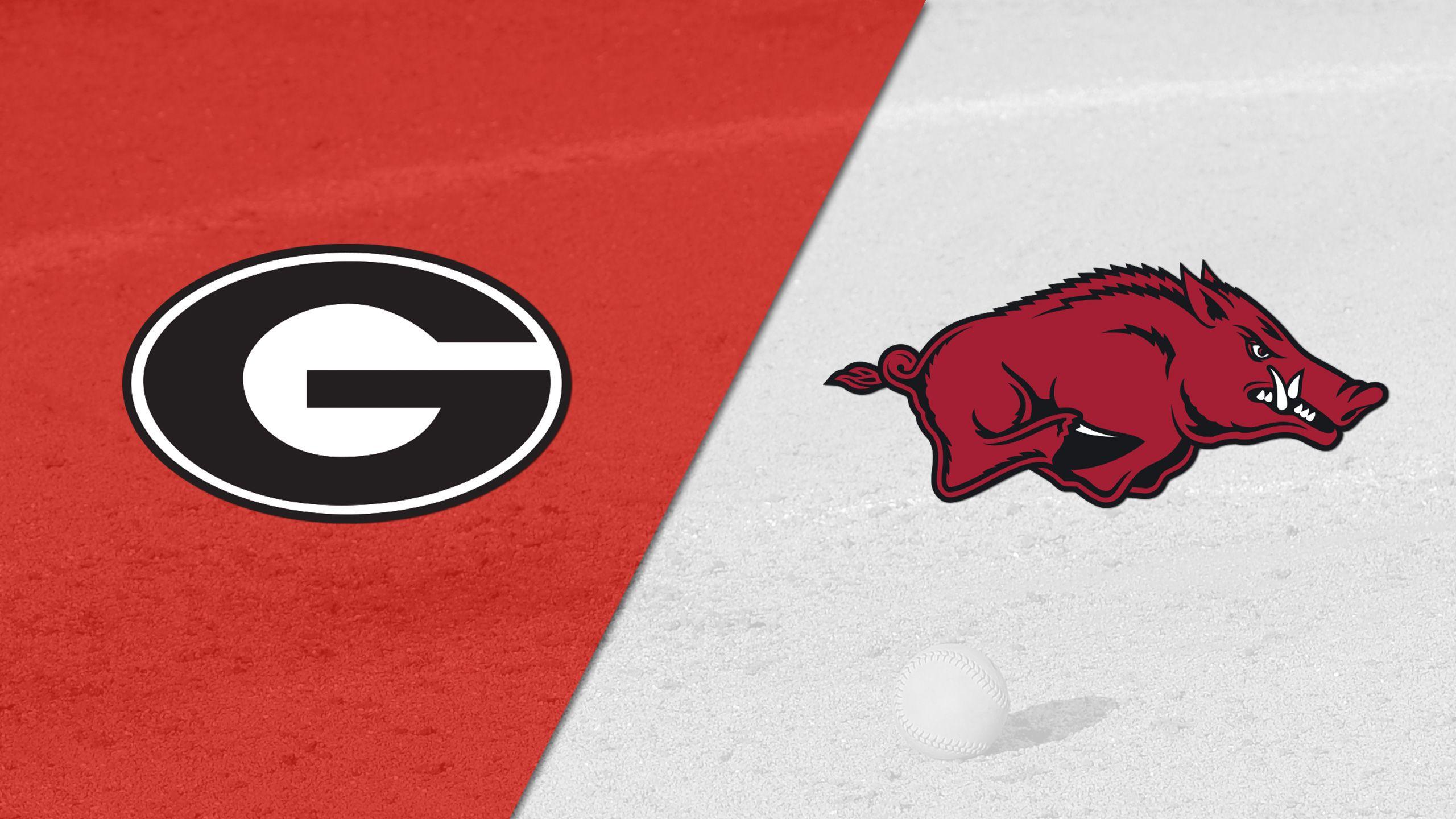 Georgia vs. Arkansas (Softball)