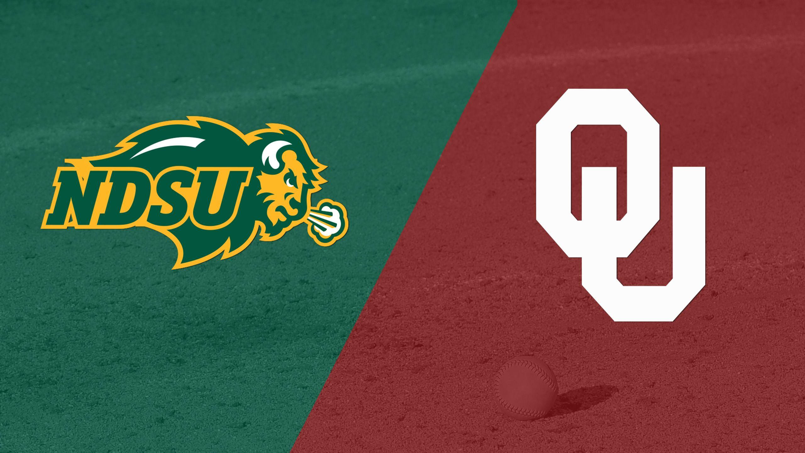 North Dakota State vs. #10 Oklahoma (Site 15 / Game 2) (NCAA Softball Championship)