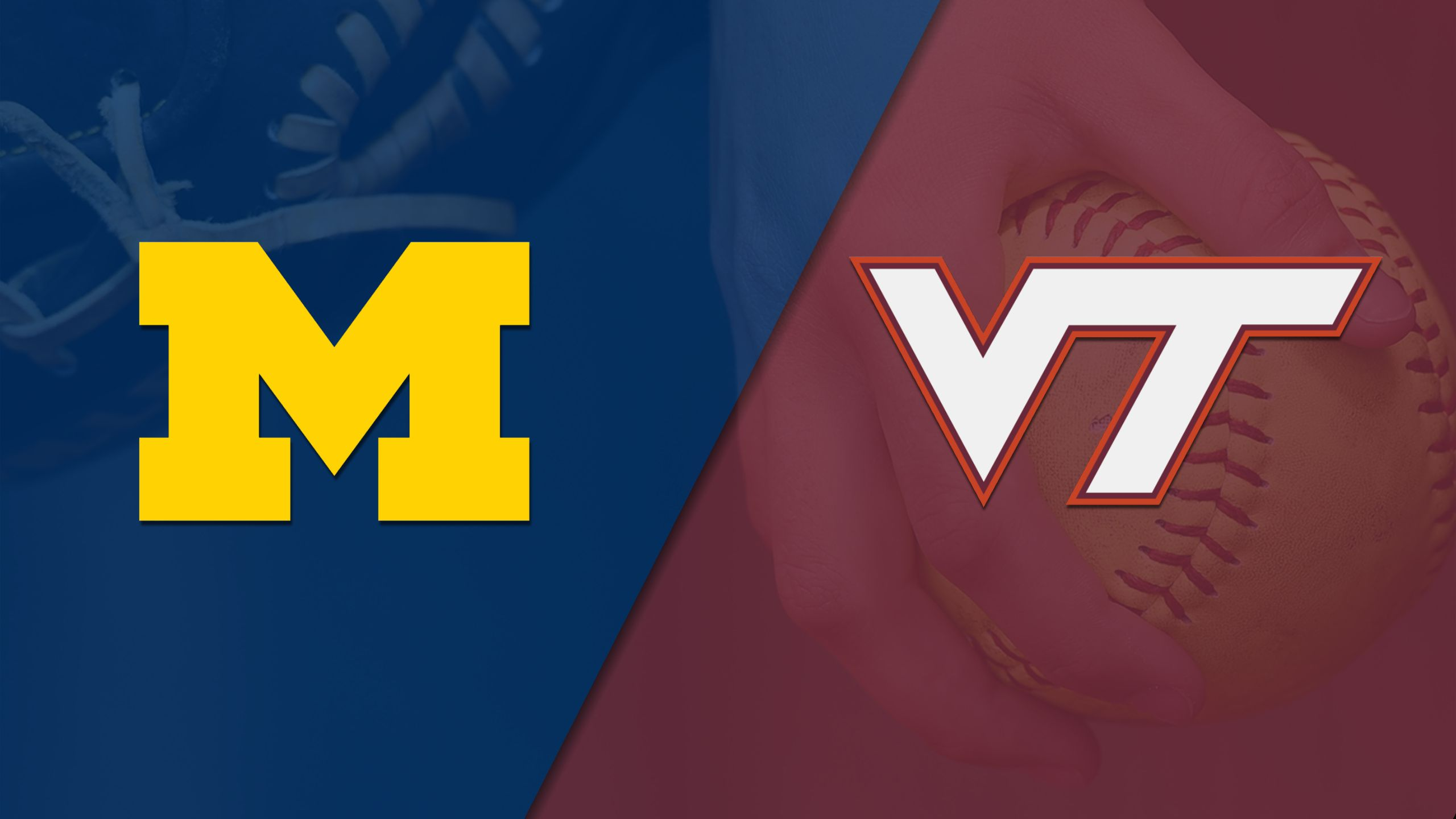#20 Michigan vs. Virginia Tech (Softball) (re-air)