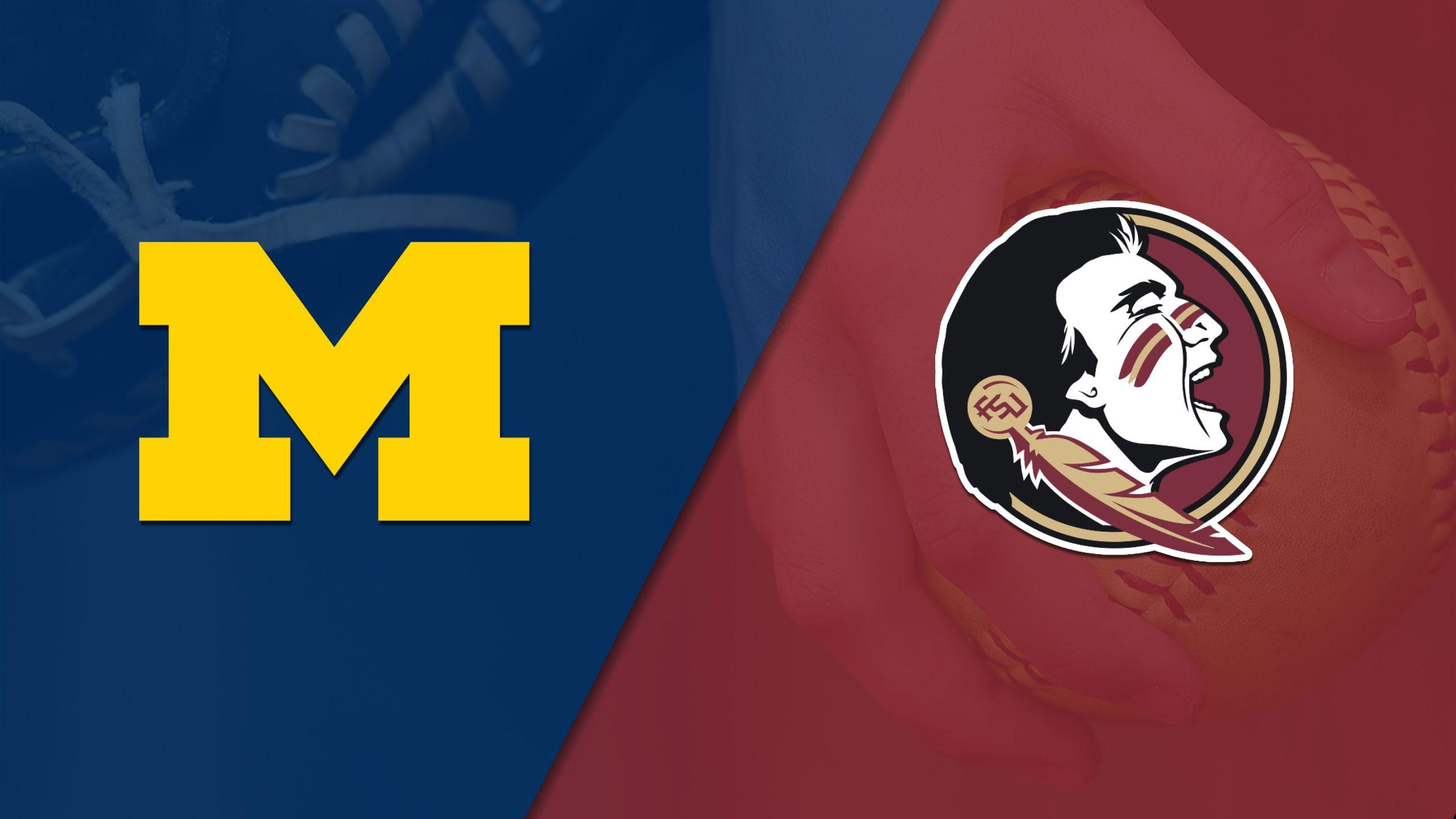 #19 Michigan vs. #6 Florida State (Softball)