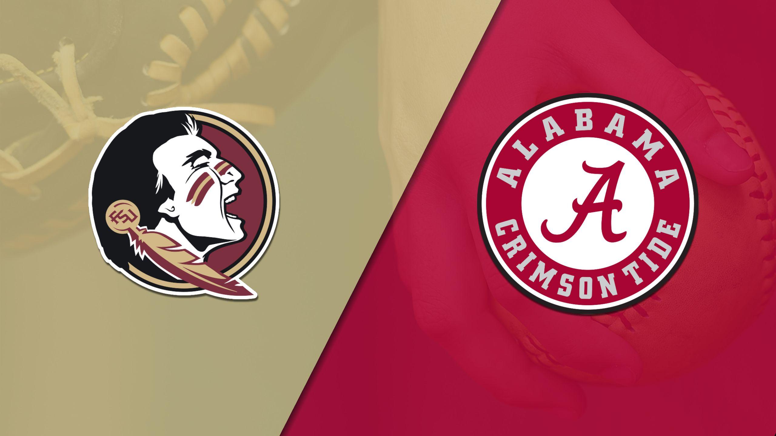 #7 Florida State vs. #13 Alabama (Softball)