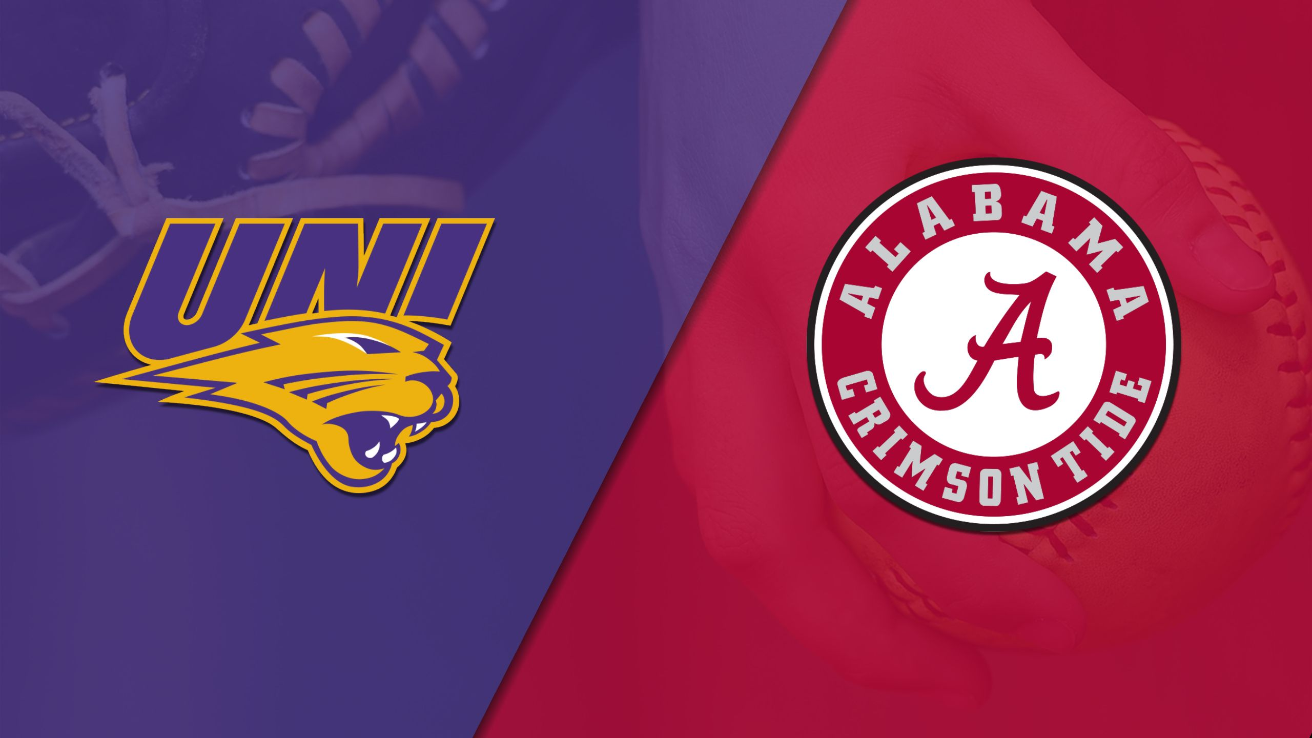 Northern Iowa vs. #13 Alabama (Softball)