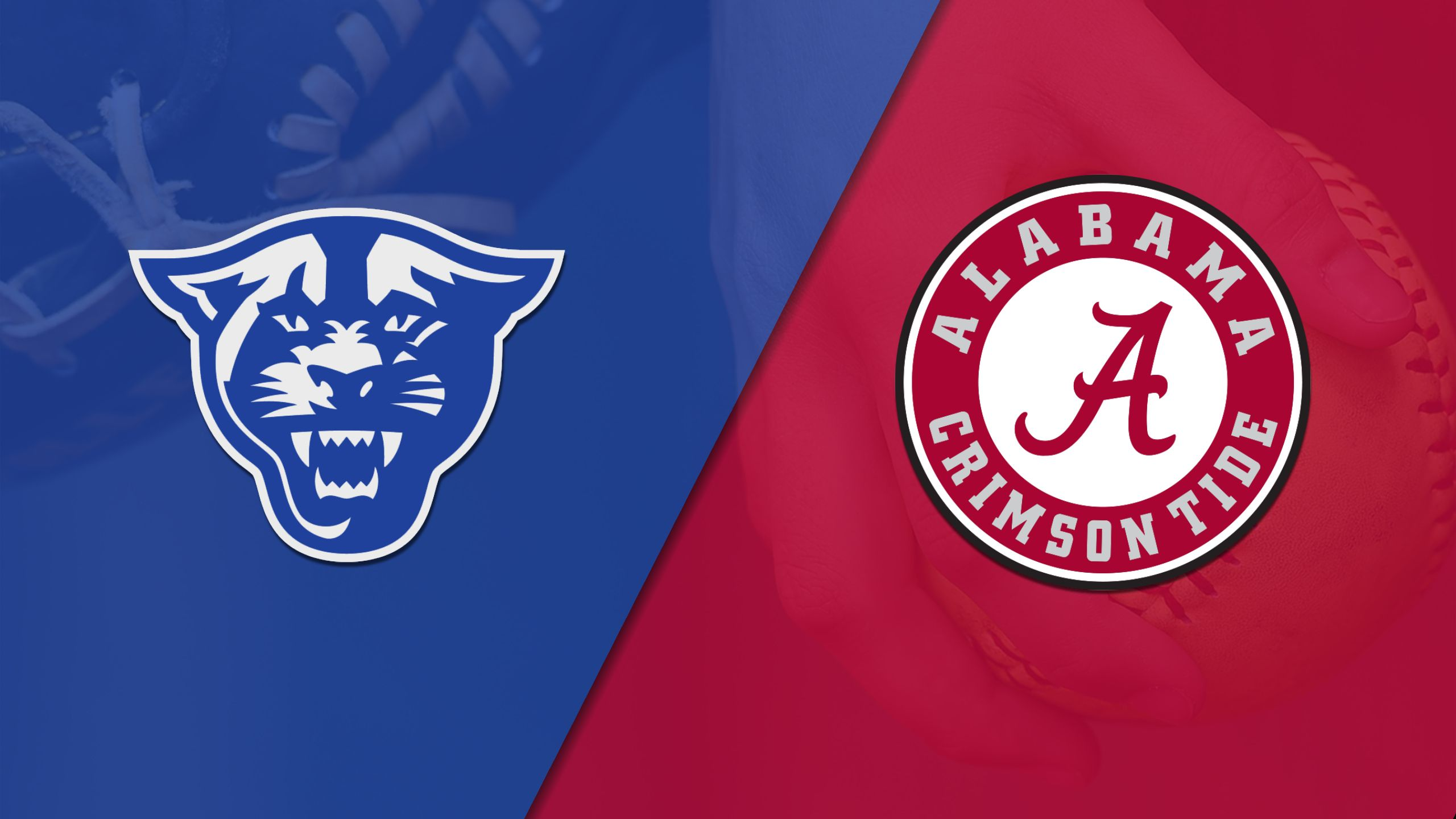 Georgia State vs. #13 Alabama (Softball)
