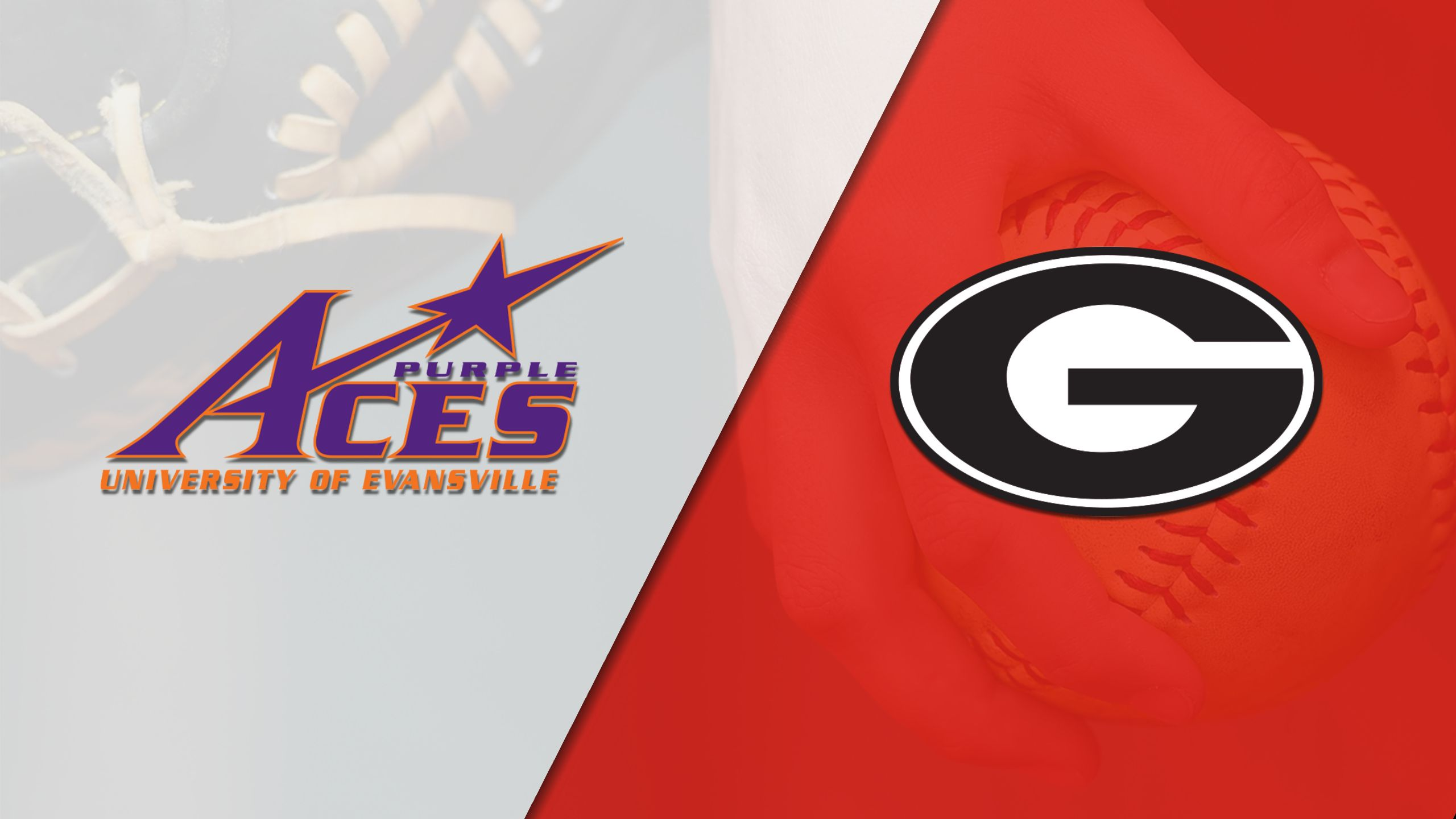 Evansville vs. #17 Georgia (Softball)