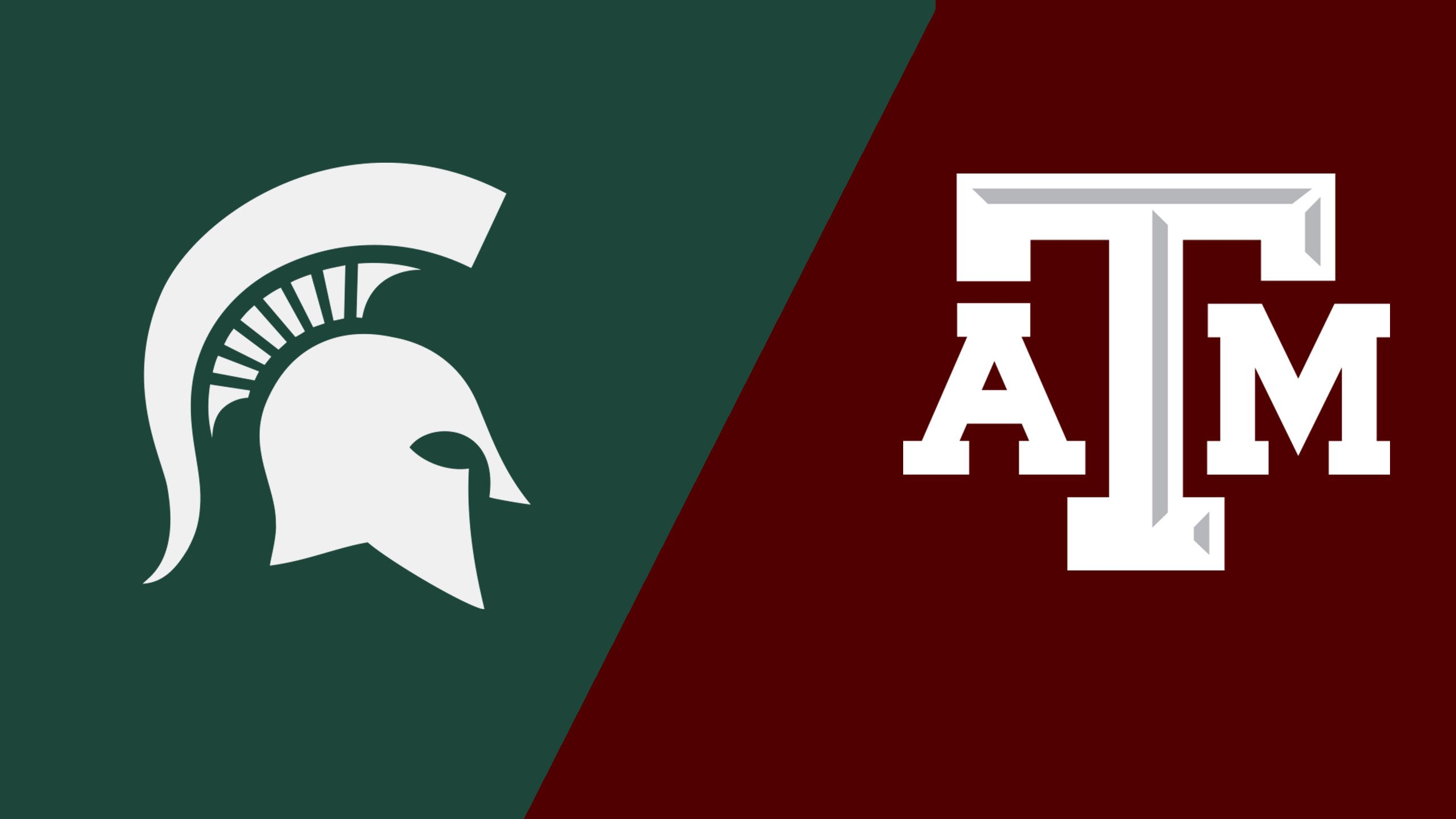 Michigan State vs. #7 Texas A&M (Softball)