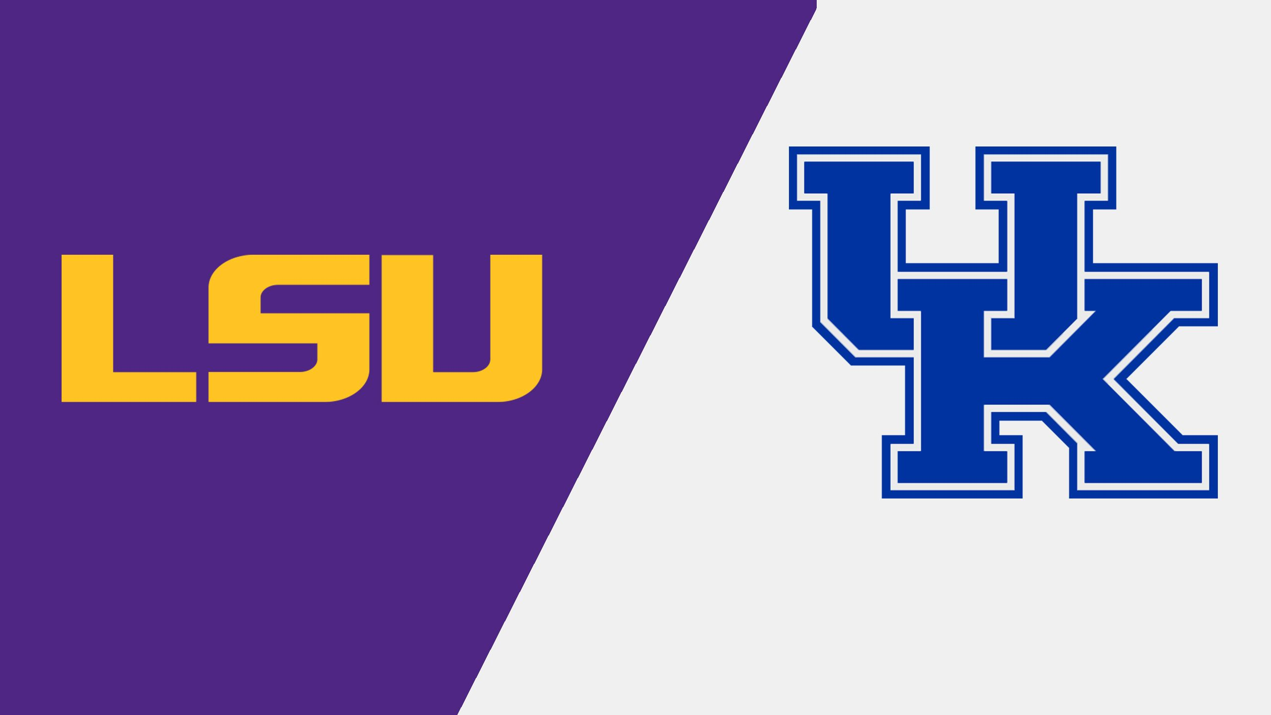 #8 LSU vs. #23 Kentucky (Softball) (re-air)