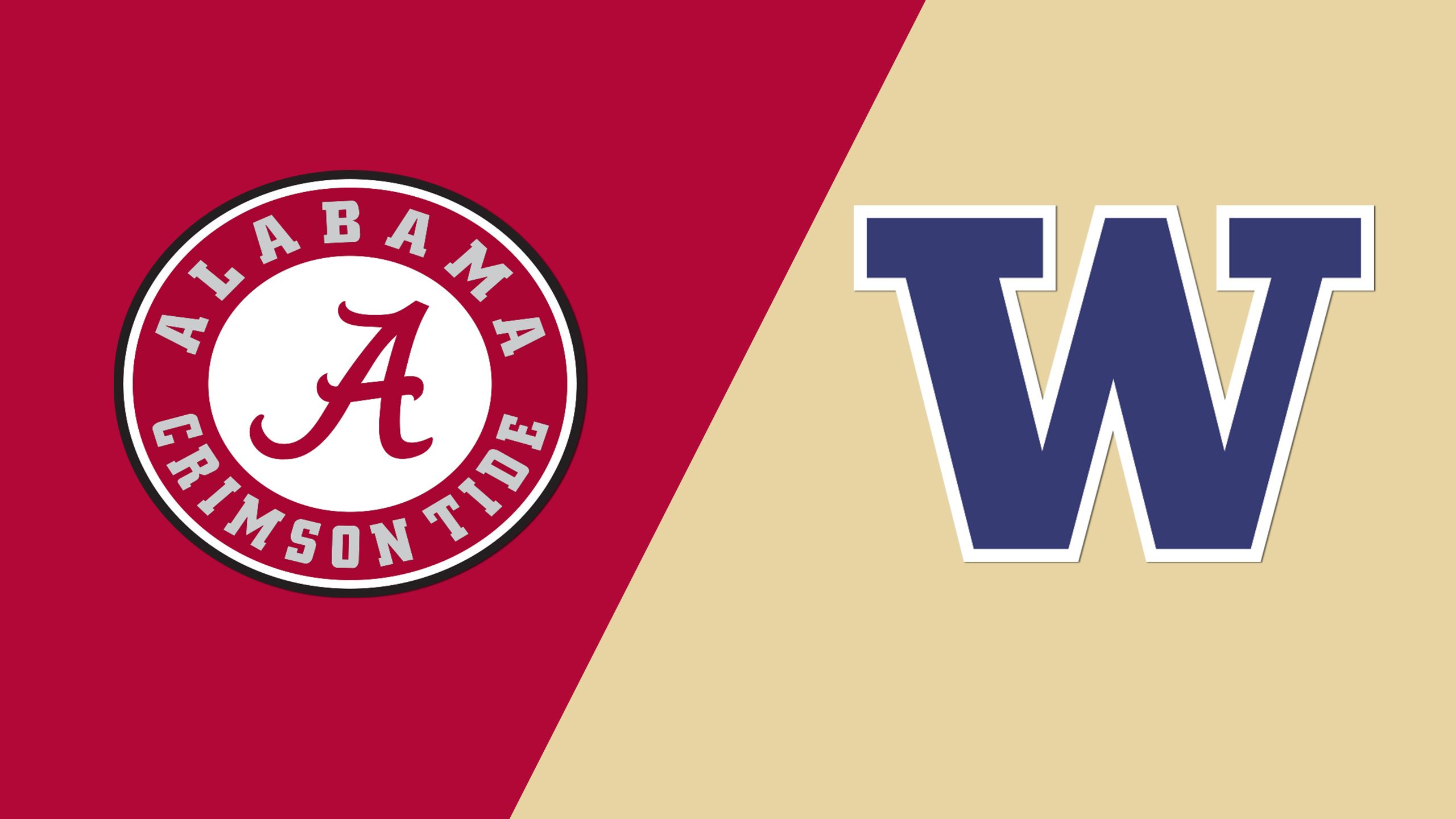 #12 Alabama vs. #5 Washington (Site 5 / Game 1) (NCAA Softball Championship)