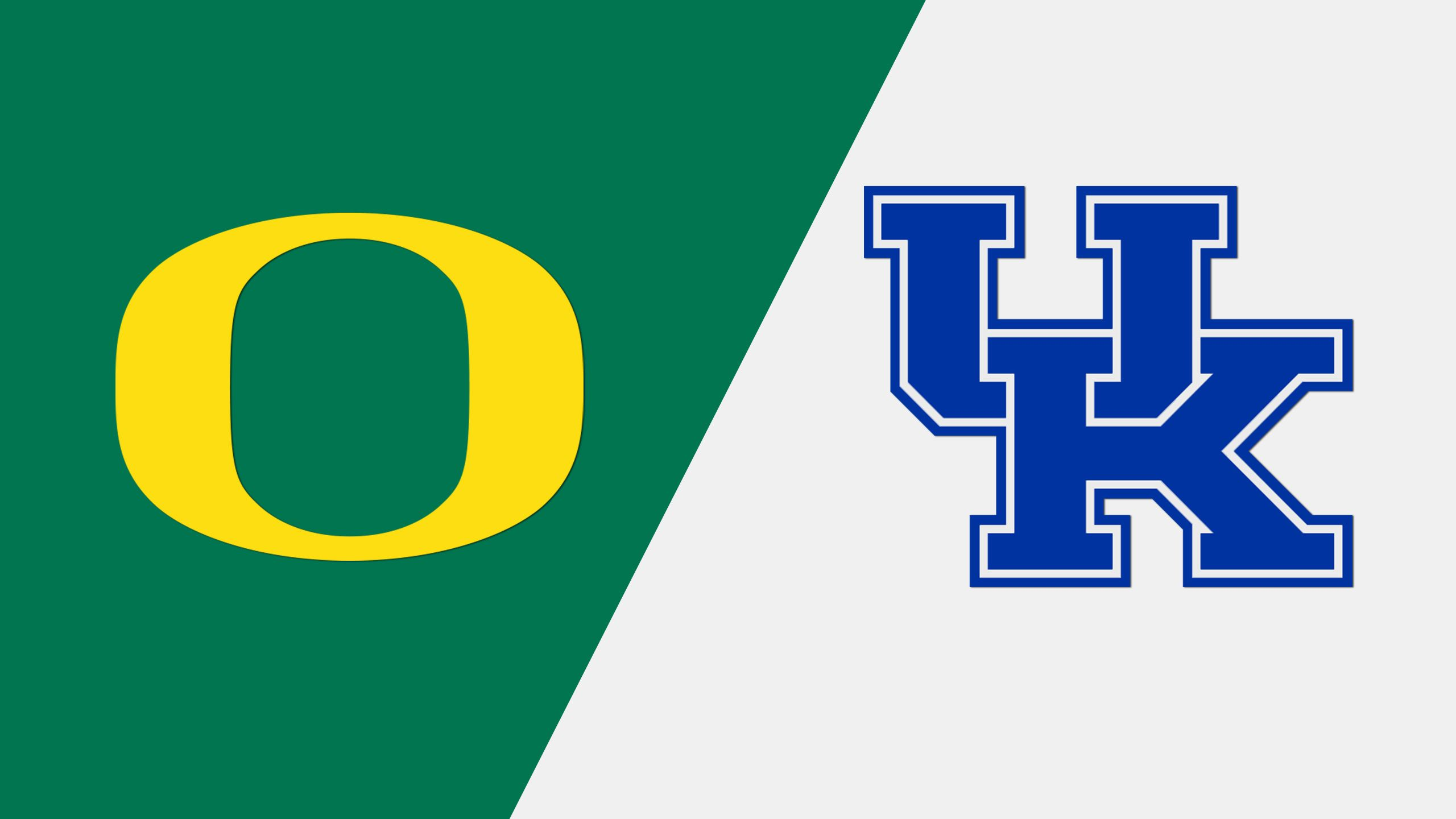 #1 Oregon vs. #16 Kentucky (Site 3 / Game 2) (NCAA Softball Championship)