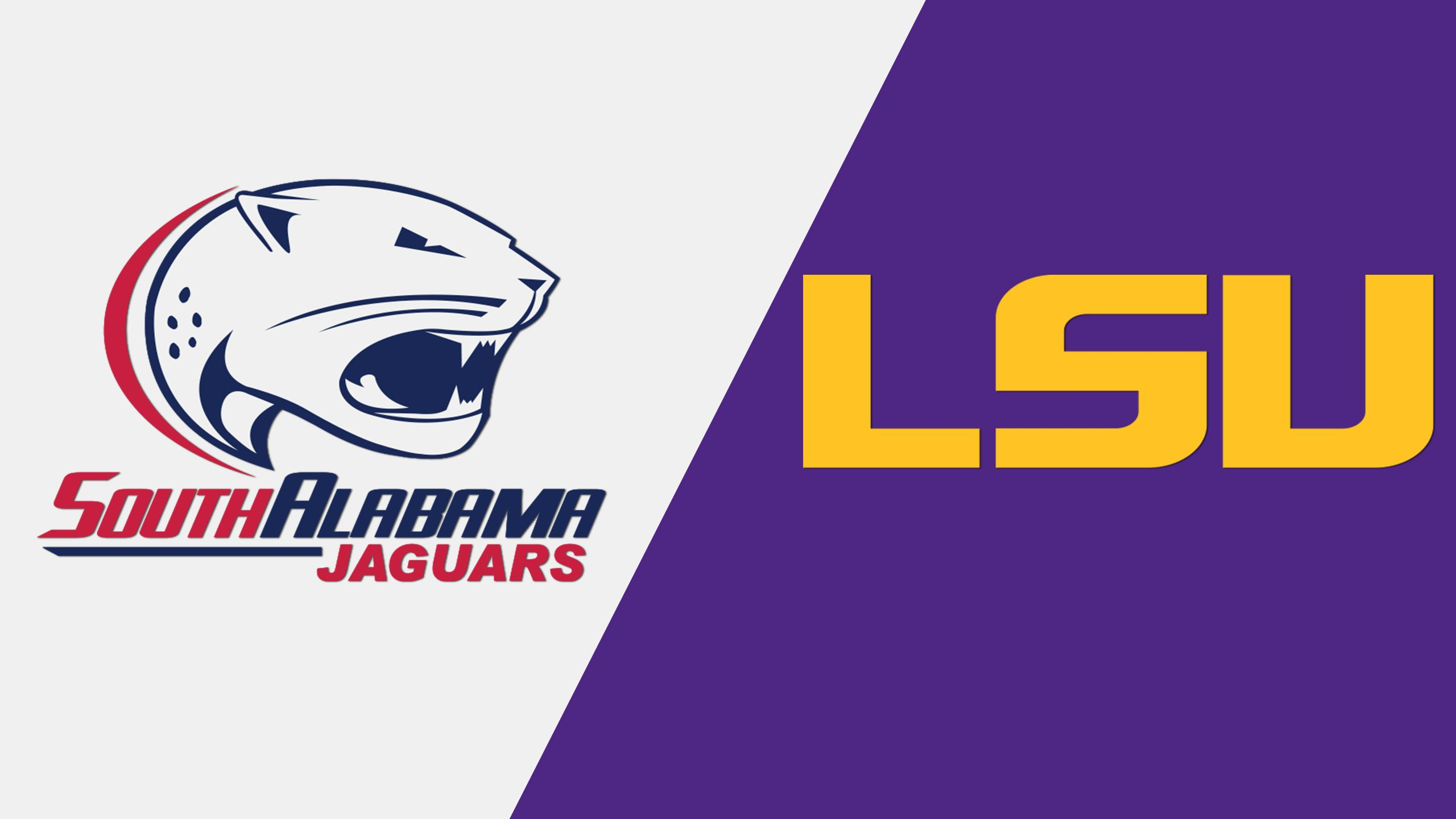 South Alabama vs. #14 LSU (Softball)