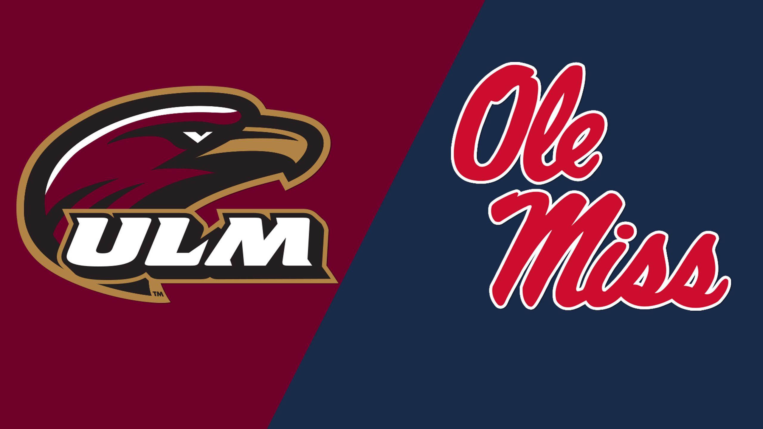 UL Monroe vs. Ole Miss (Softball)