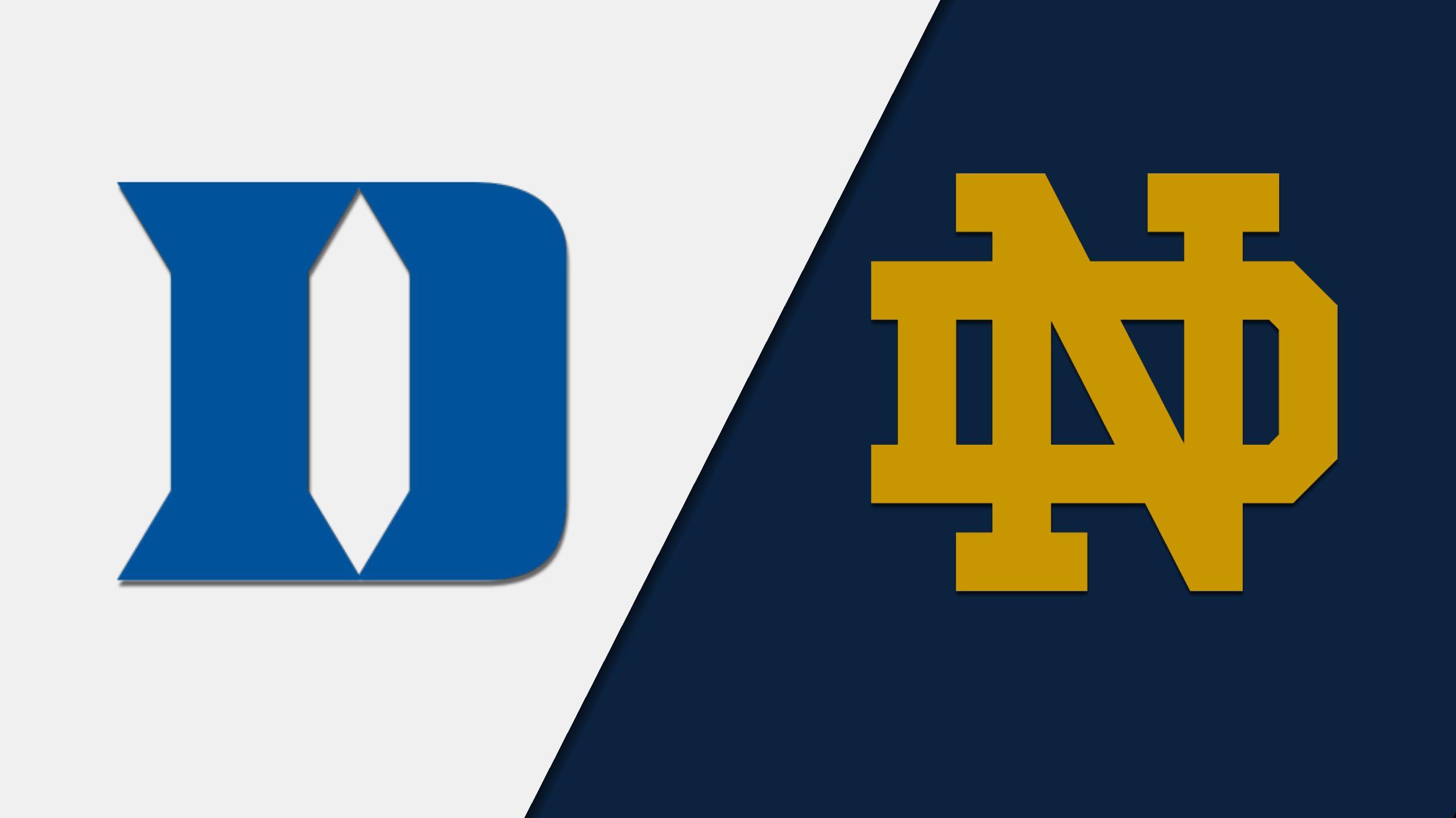 Duke vs. Notre Dame (Softball)
