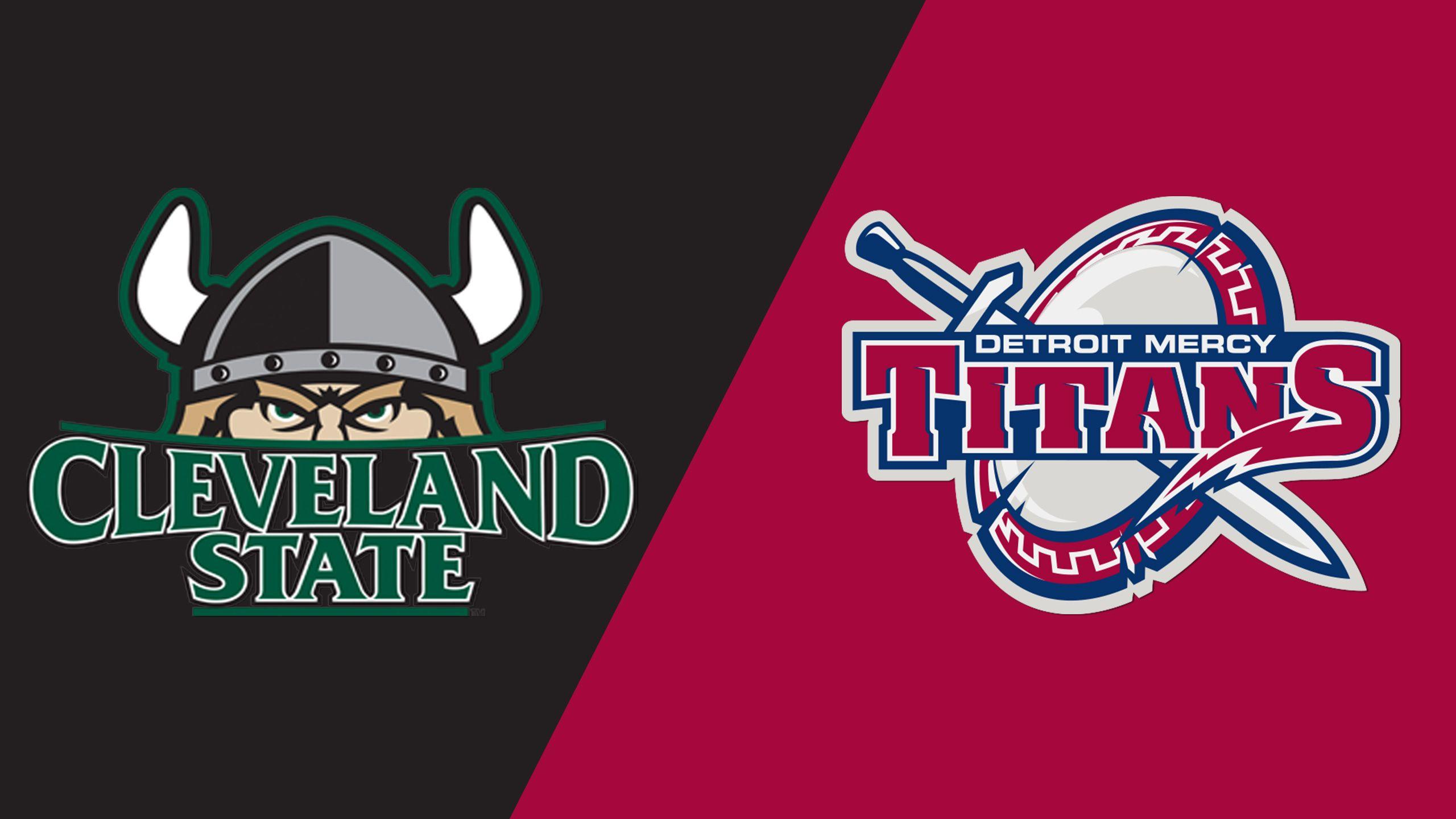 Cleveland State vs. Detroit Mercy (Softball)