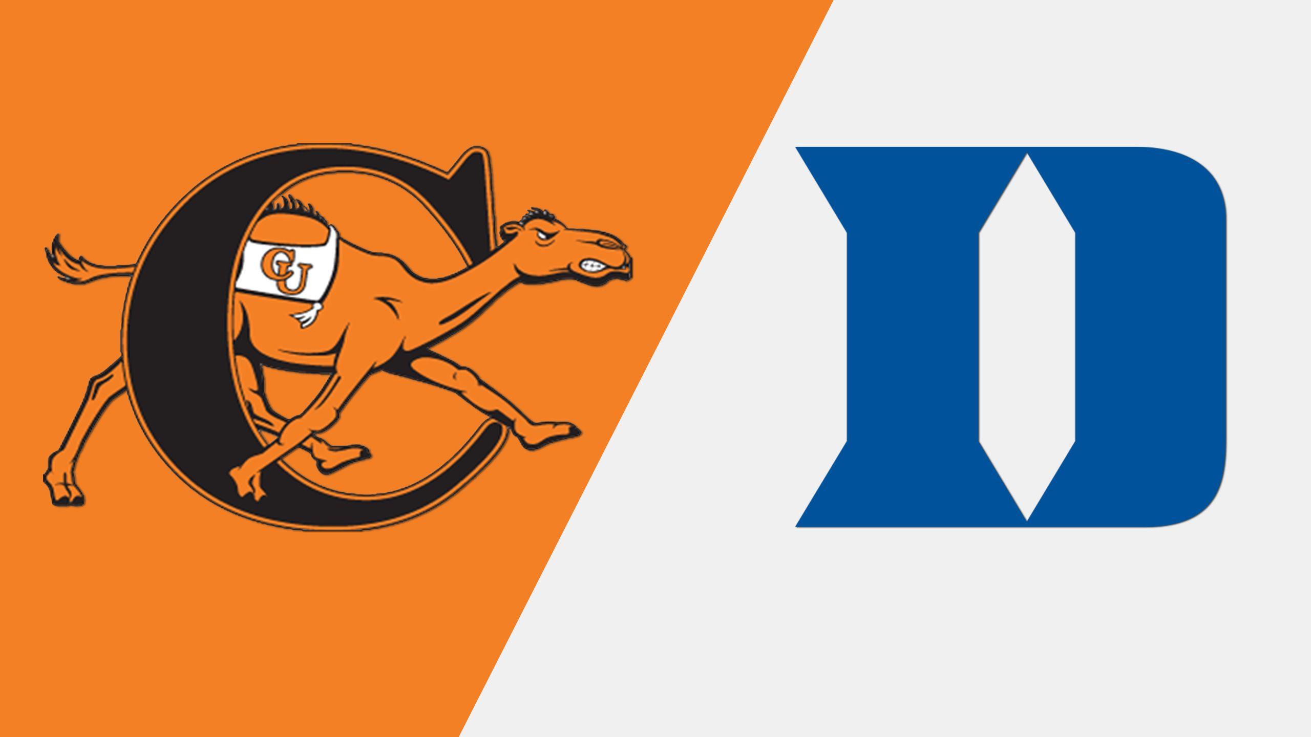 Campbell vs. Duke (Softball)