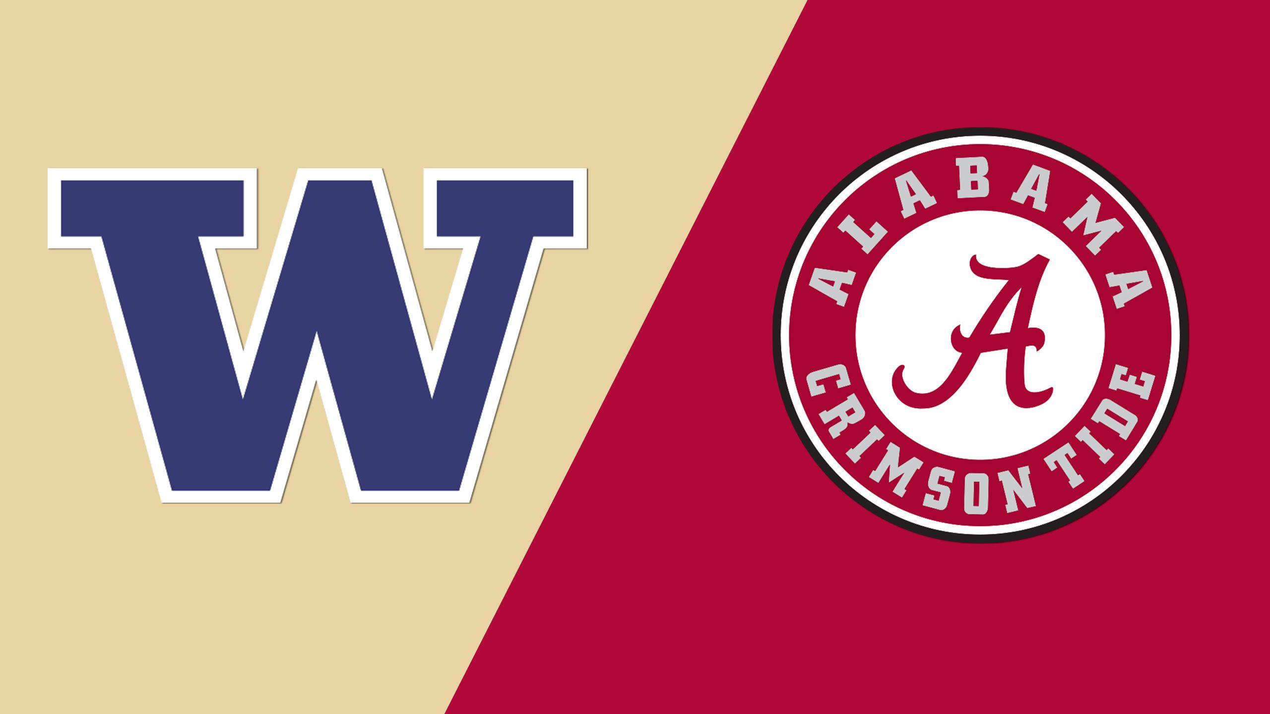 #5 Washington vs. #12 Alabama (Site 5 / Game 2) (NCAA Softball Championship)