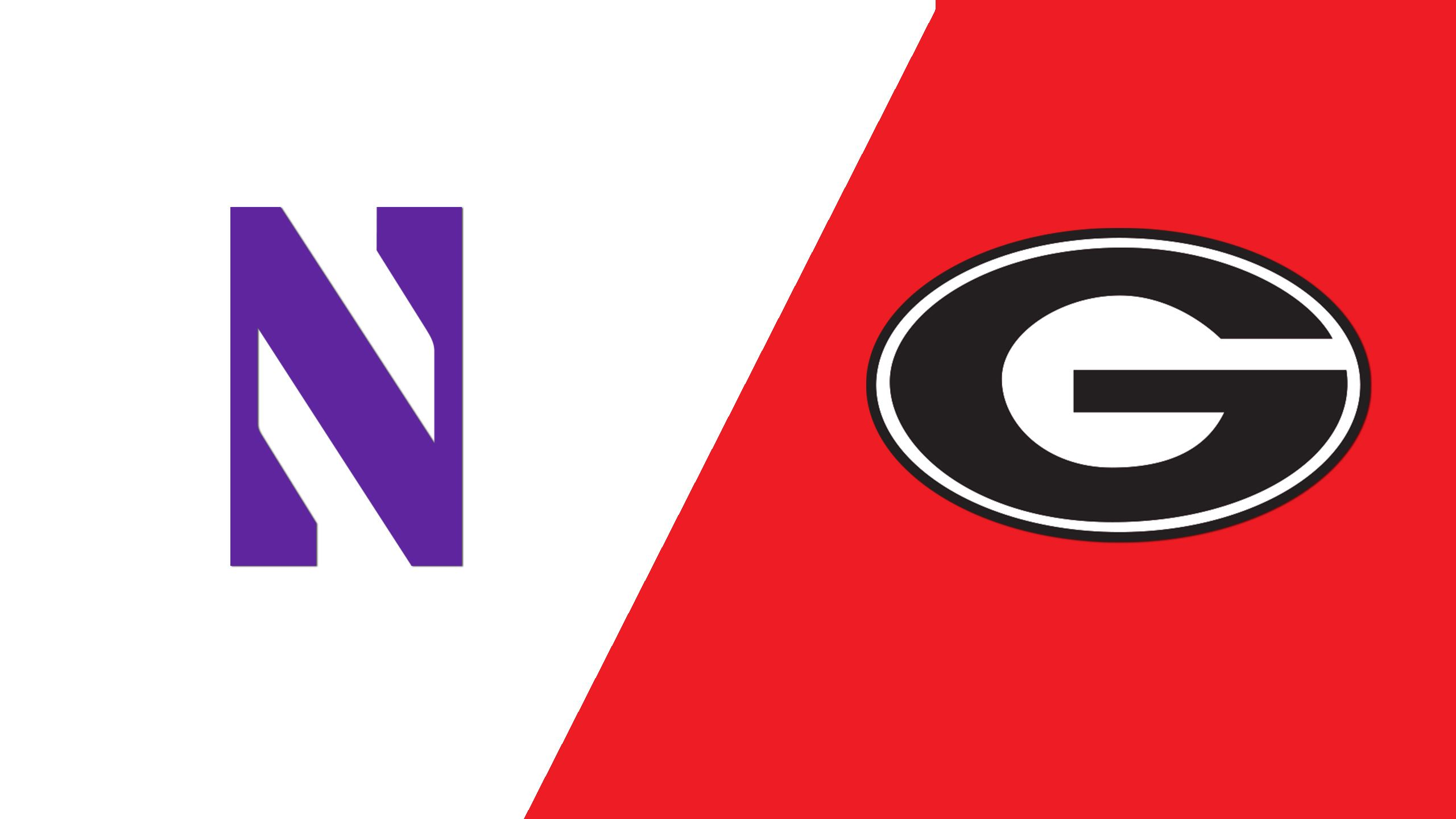 Northwestern vs. #7 Georgia (Site 11/Game 6) (NCAA Softball Championship)