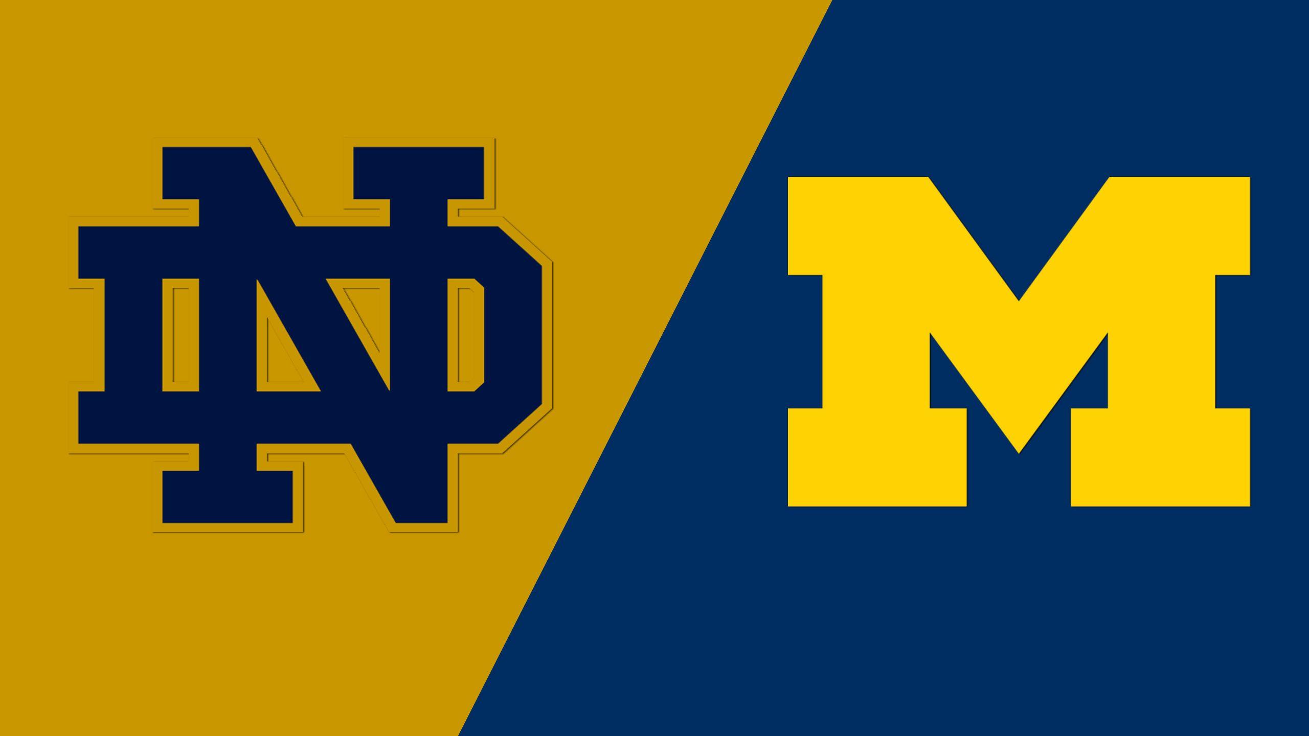 Notre Dame vs. Michigan (Site 2 / Game 1) (NCAA Softball Championship)