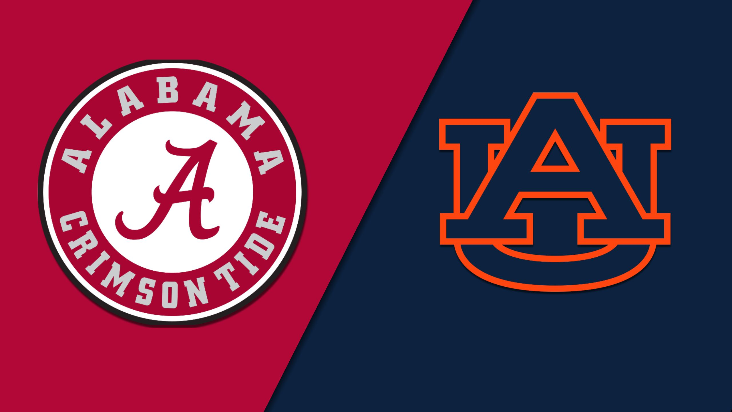 Alabama vs. Auburn (Football) (re-air)