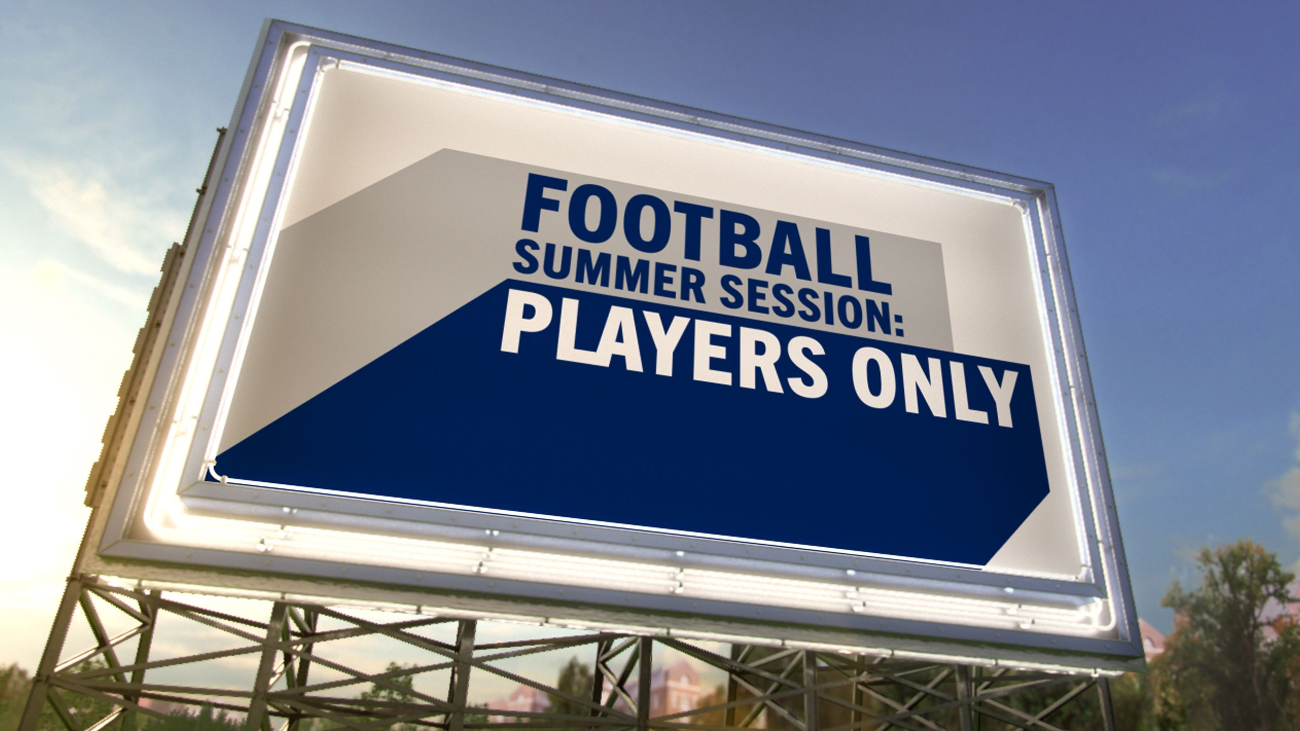 Football Summer Session: Players Only
