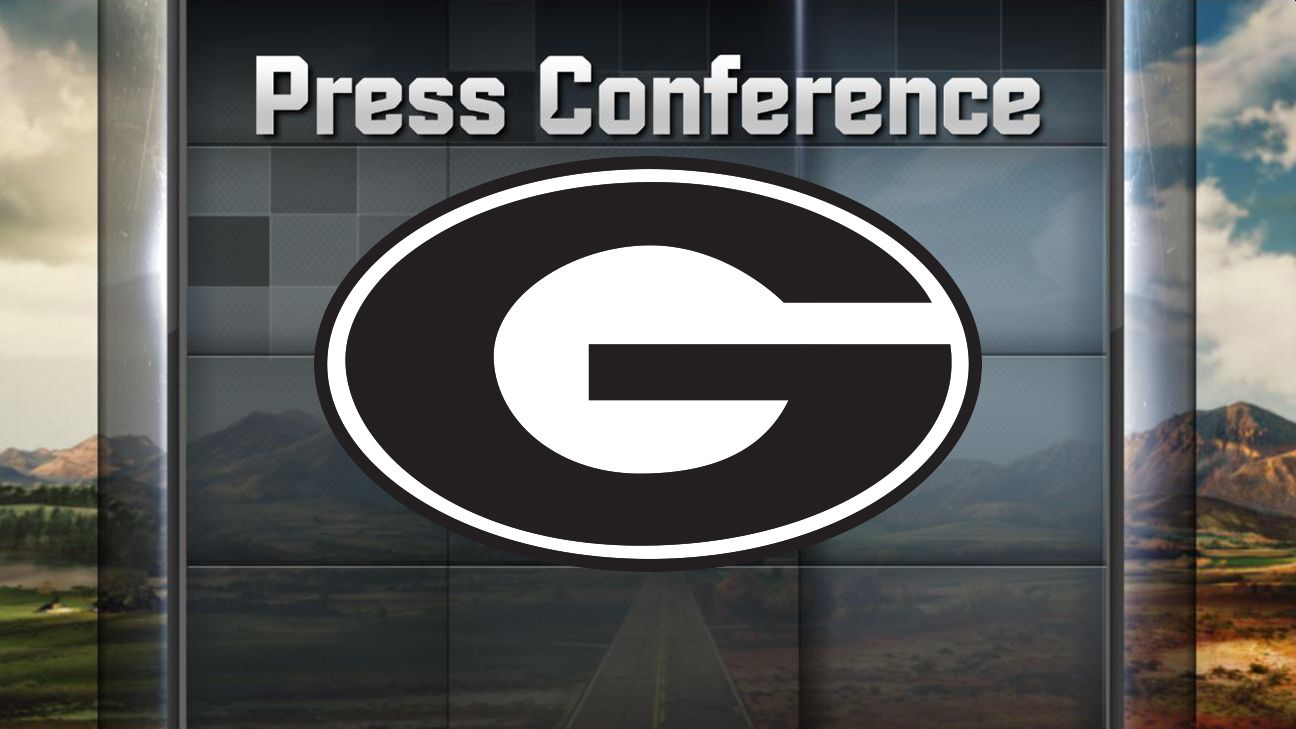 University of Georgia Press Conference