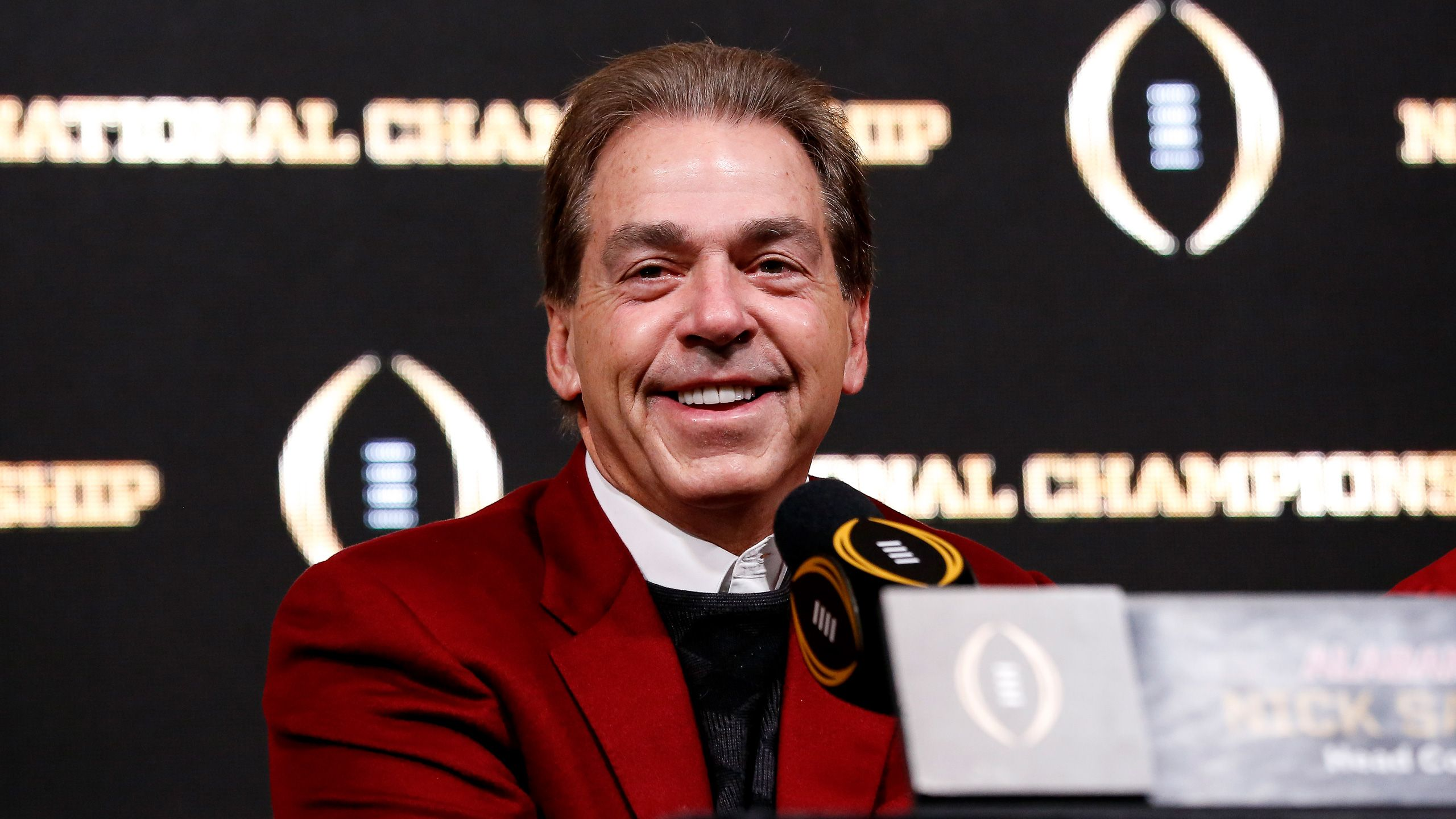 SEC Football Media Days - Nick Saban