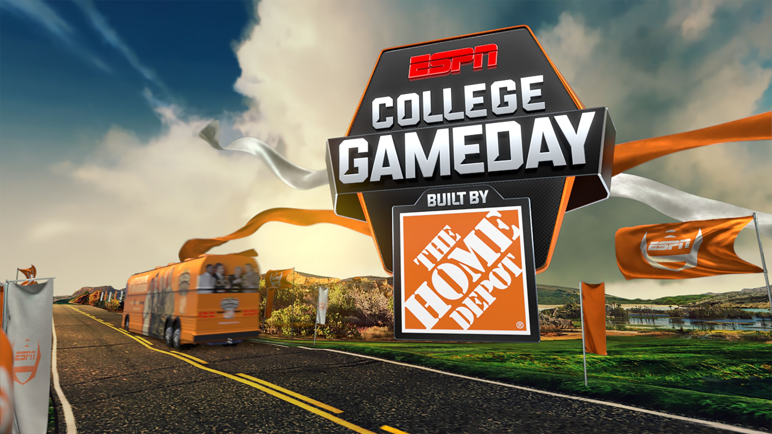 Thu, 4/26 - College GameDay Built by The Home Depot
