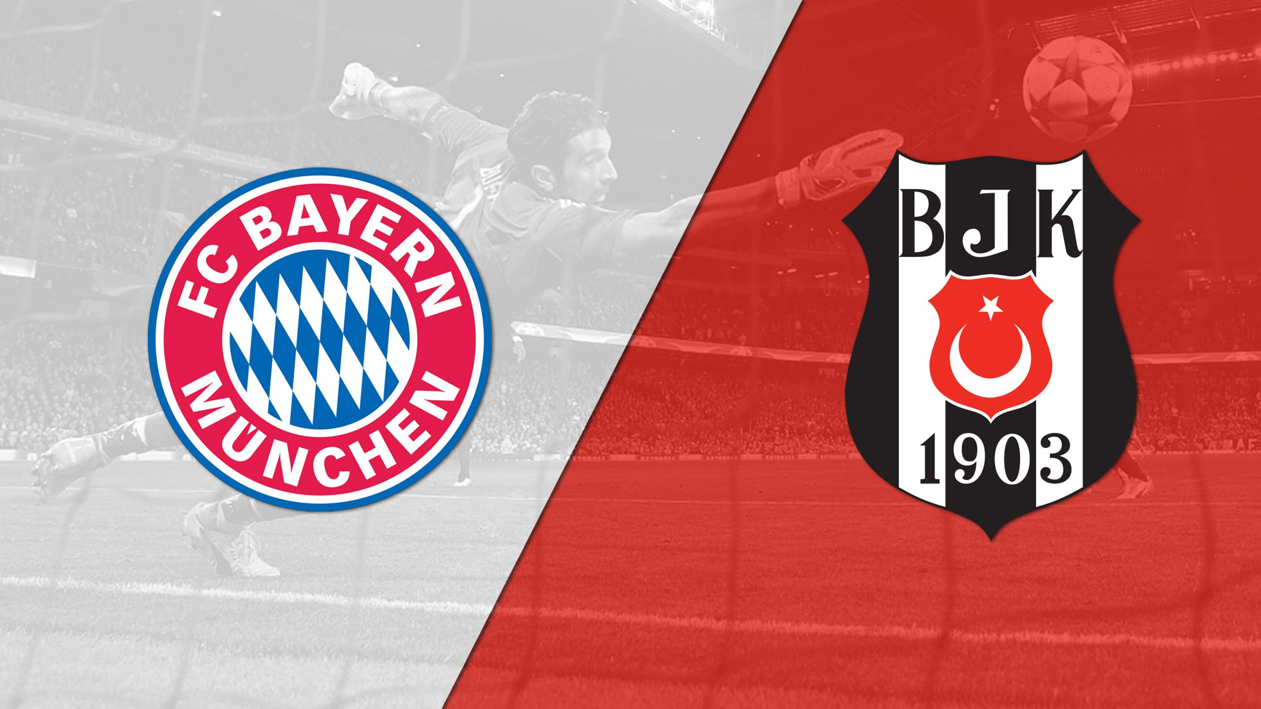 In Spanish - Bayern Munich vs. Besiktas (UEFA Champions League)