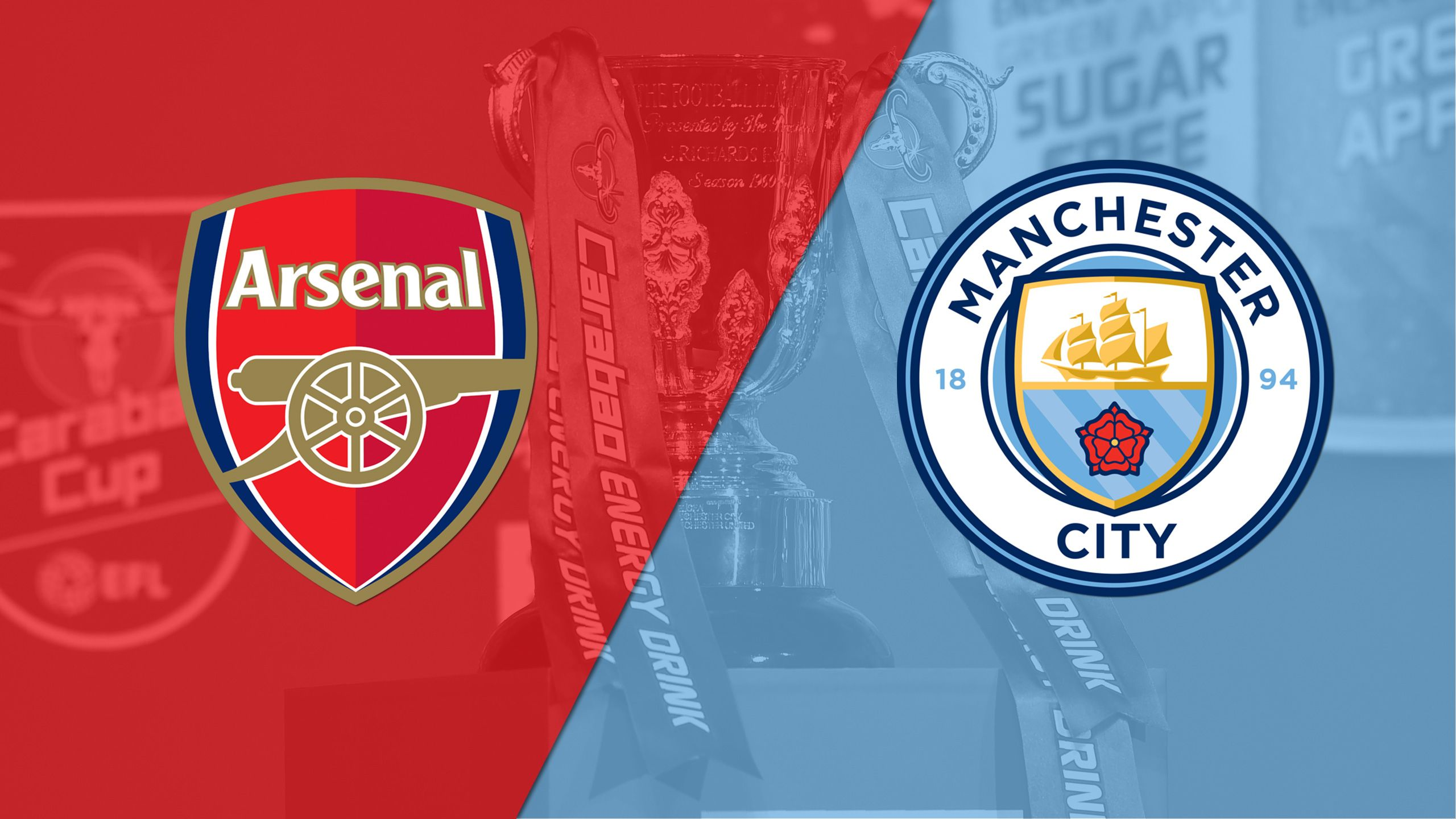 In Spanish - Arsenal vs. Manchester City (Final) (Carabao Cup)