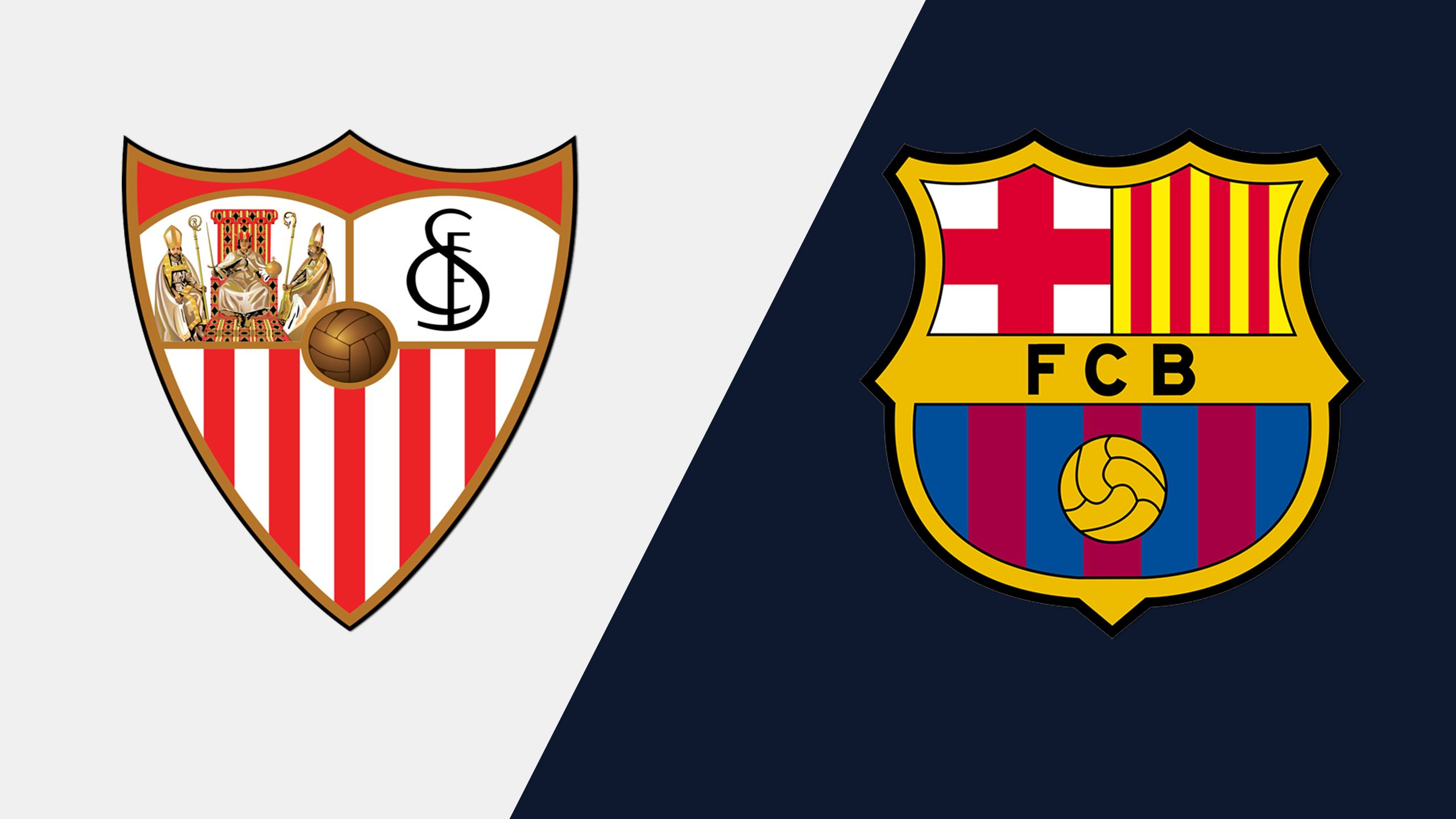 In Spanish - Sevilla vs. FC Barcelona (Final) (Copa del Rey) (re-air)