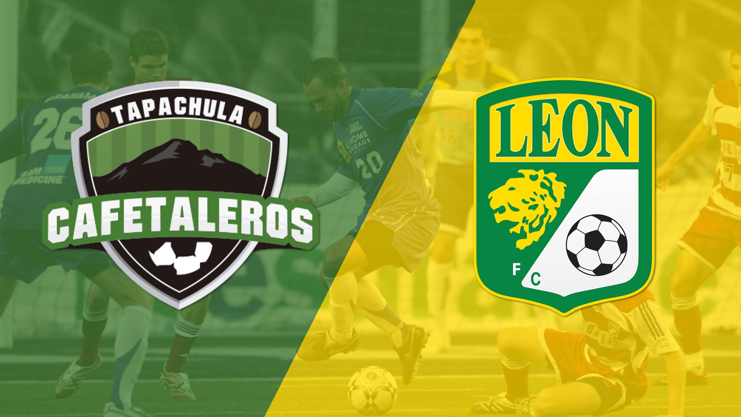 In Spanish - In Spanish - Cafetaleros de Tapachula vs. Club Leon (Copa MX)