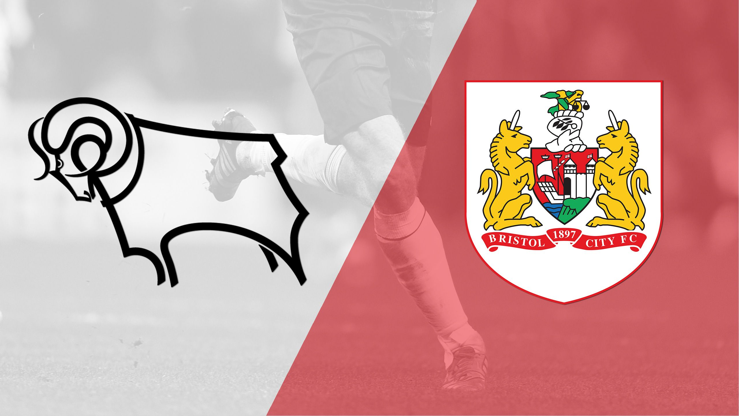 Derby County vs. Bristol City (English League Championship)