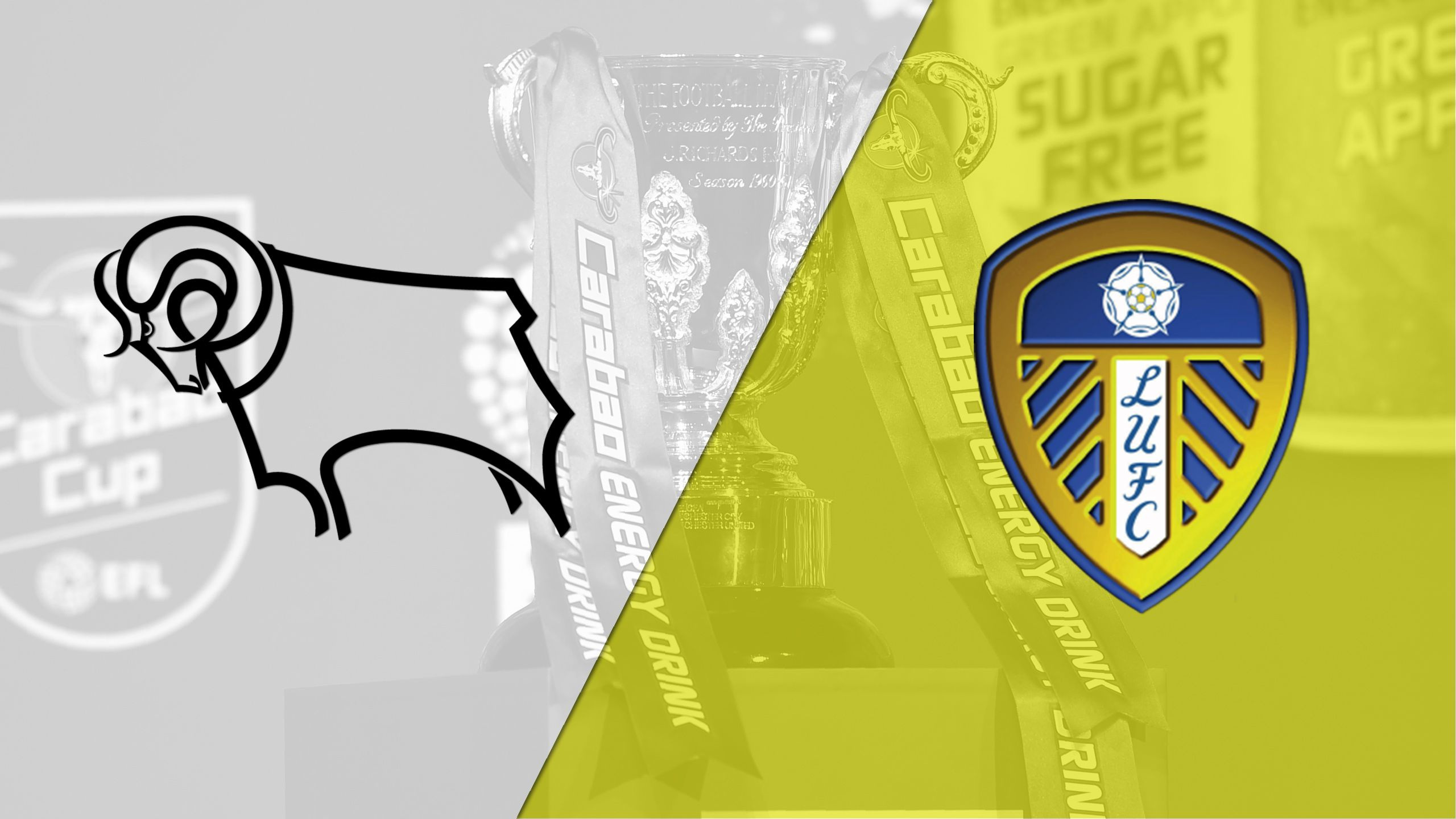 Derby County vs. Leeds United (English League Championship)