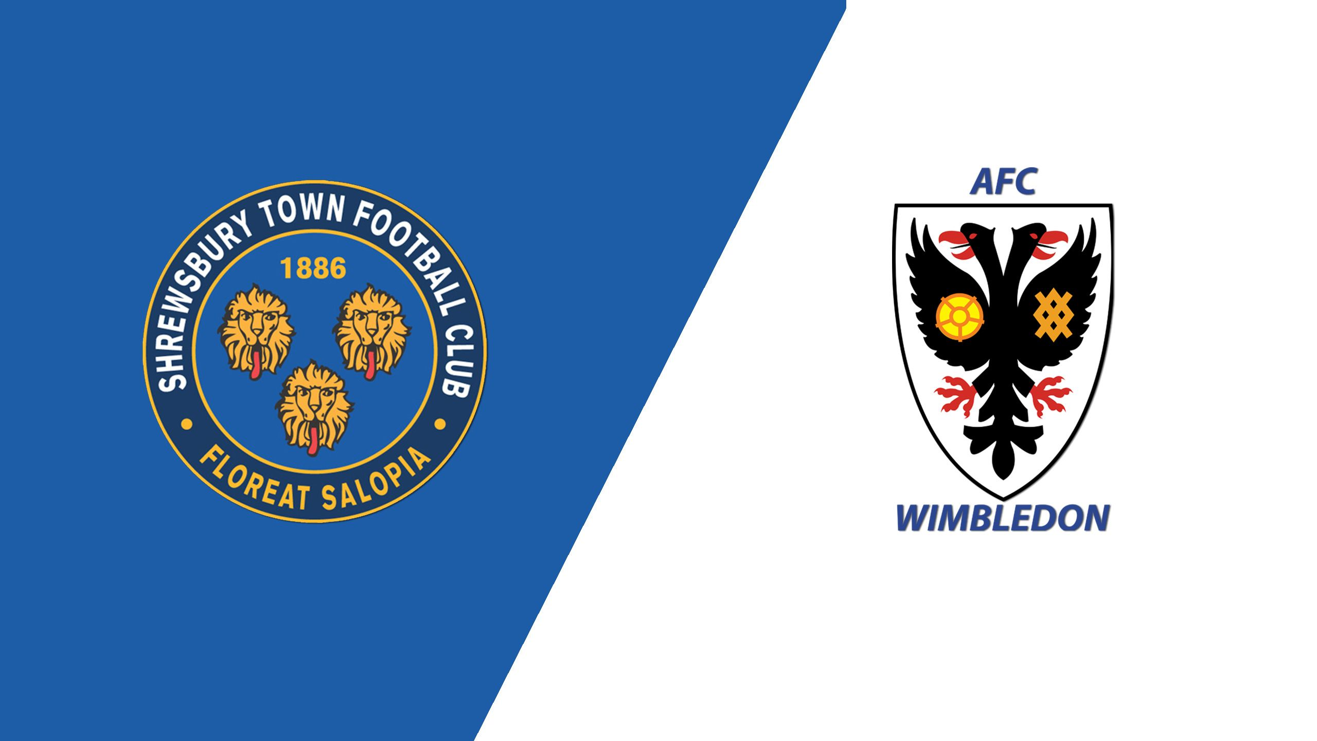Shrewsbury Town vs. AFC Wimbledon (English League One)