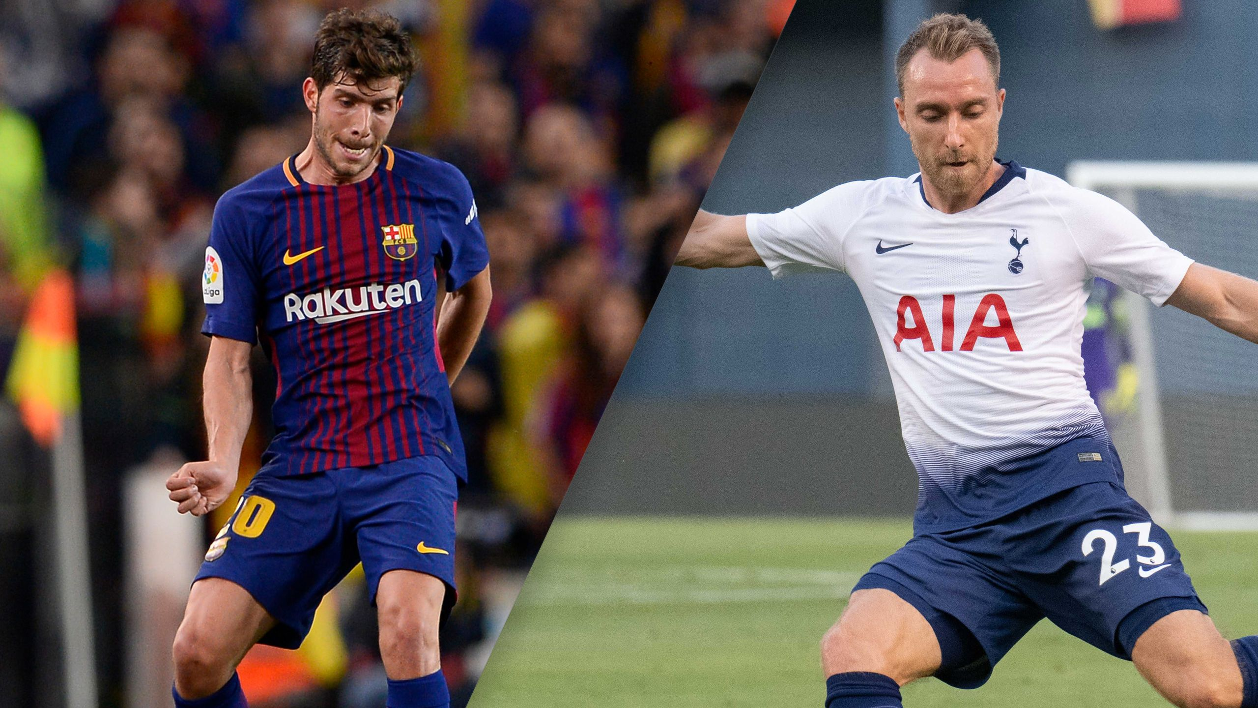In Spanish - Barcelona vs. Tottenham Hotspur (International Champions Cup) (re-air)