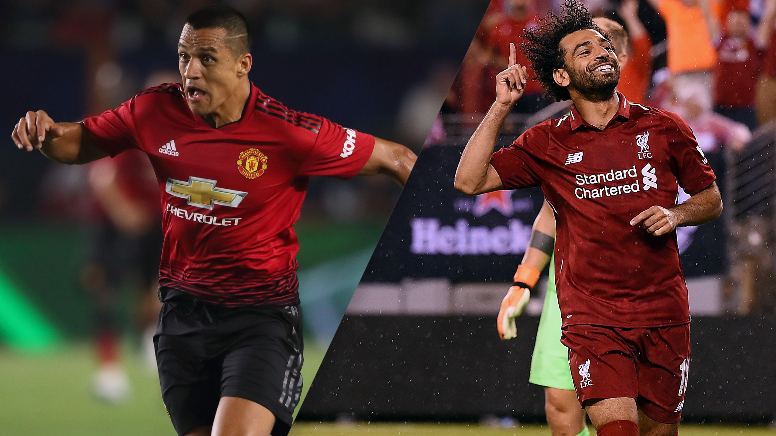 In Spanish - Manchester United vs. Liverpool (International Champions Cup) (re-air)