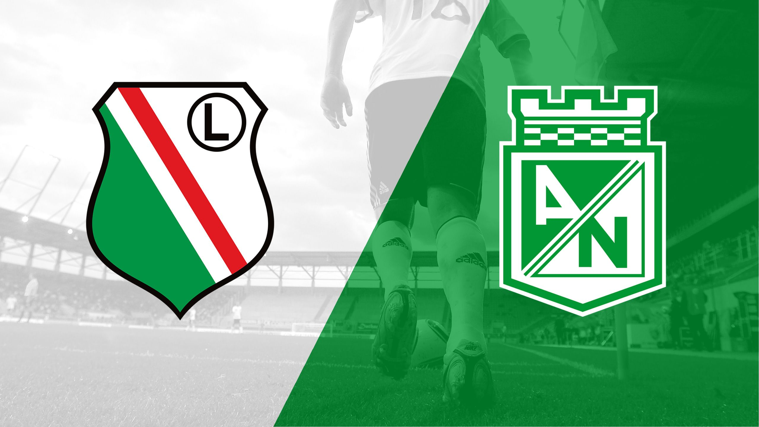 In Spanish - Legia Warsaw vs. Atletico Nacional (de Medellin) (International Friendly)