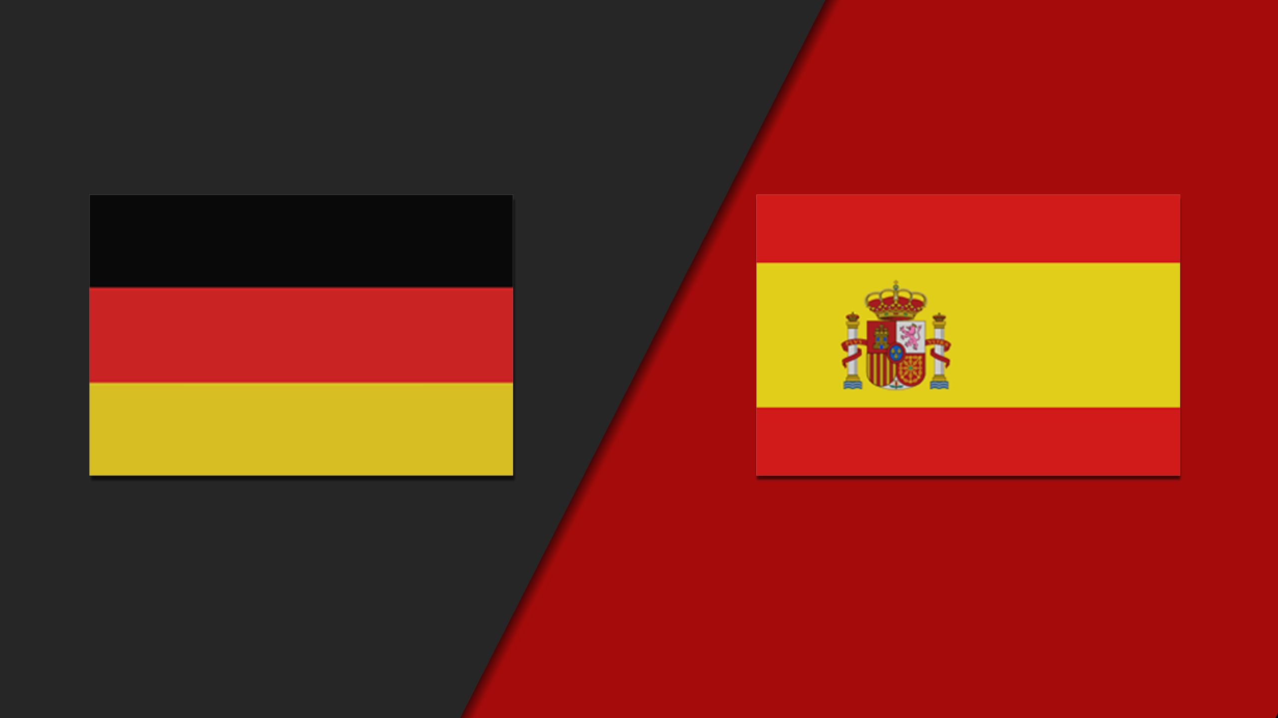 In Spanish - Germany vs. Spain (International Friendly)