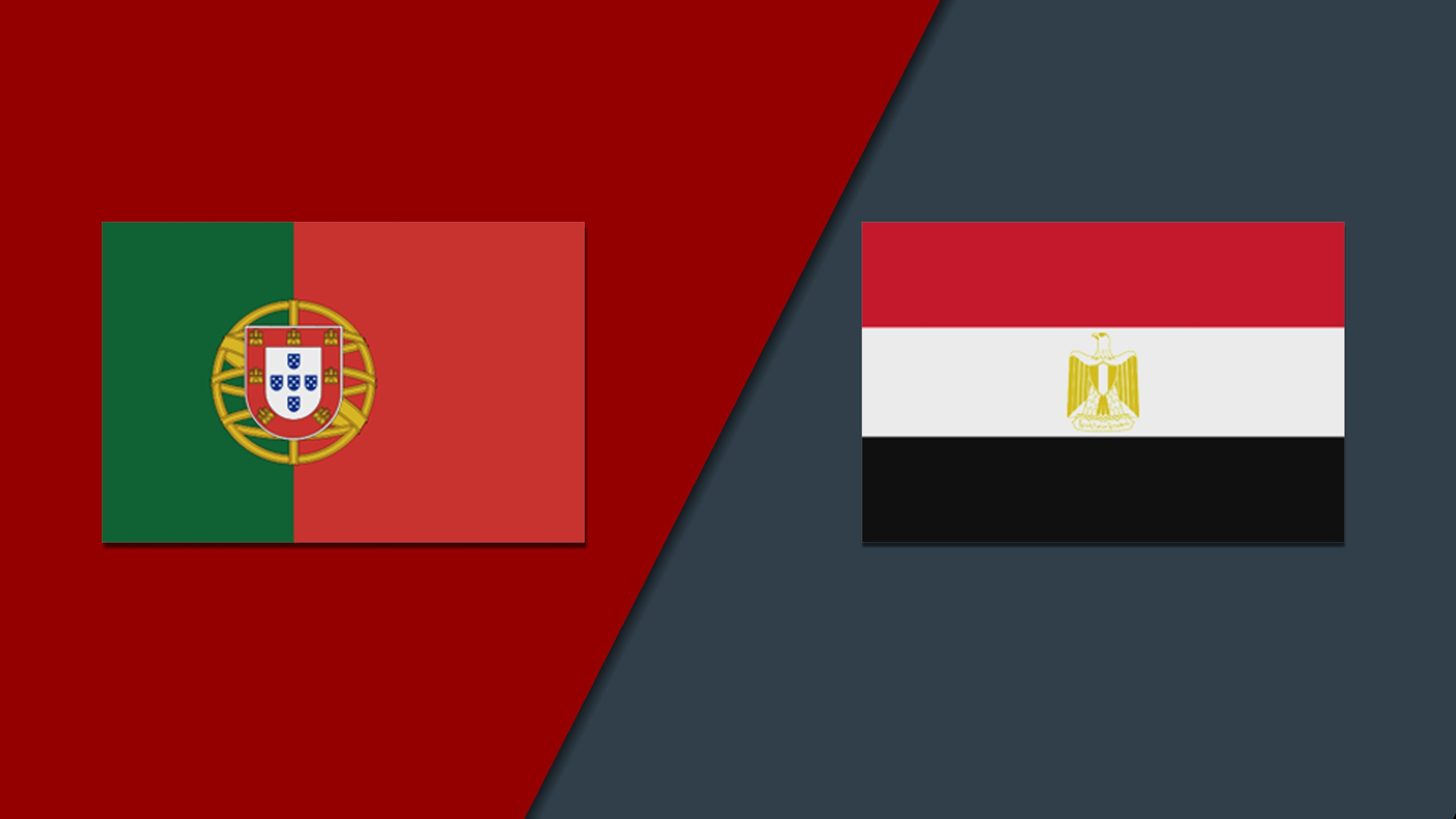 In Spanish - Portugal vs. Egypt (International Friendly)