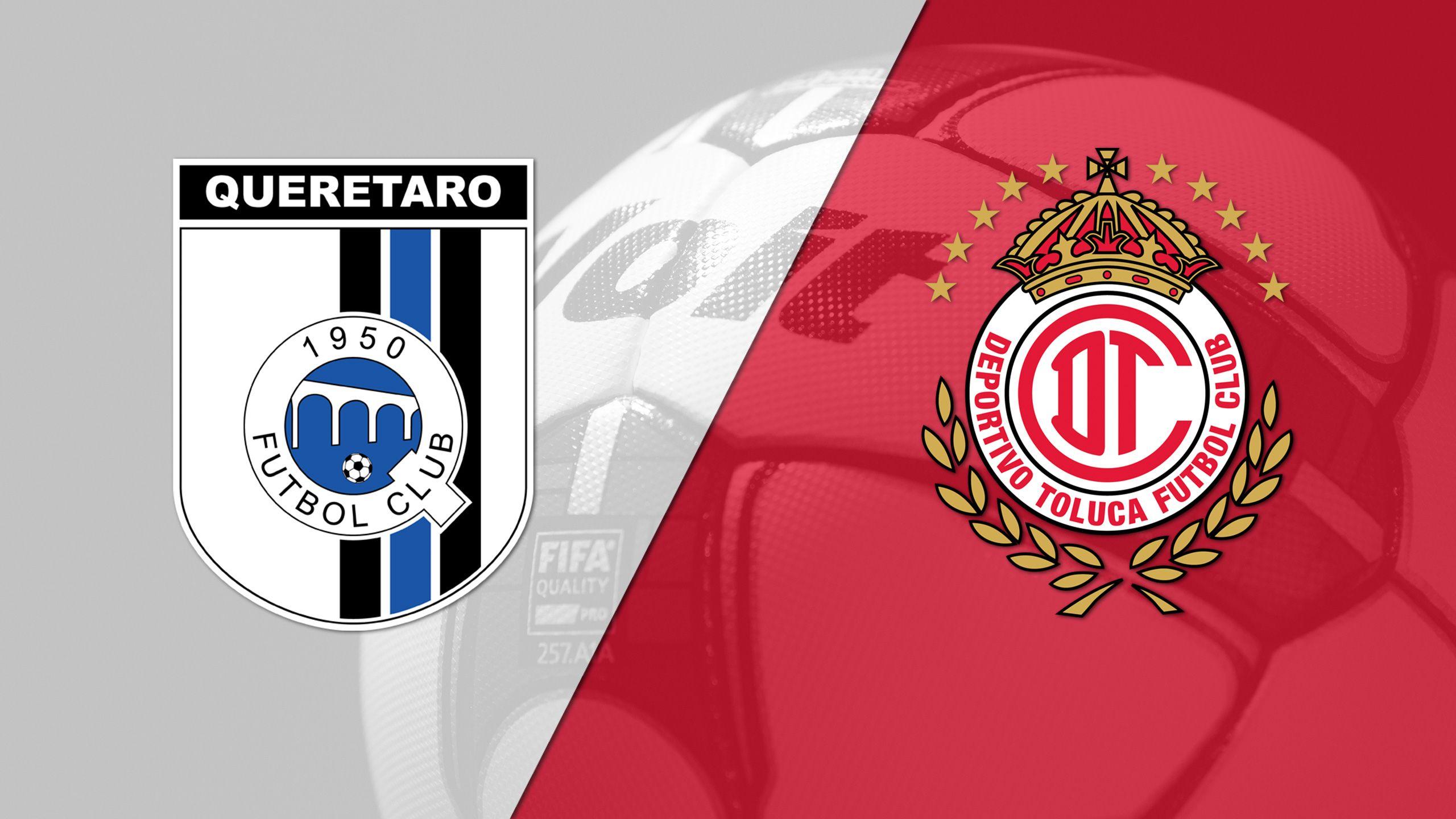 In Spanish - Gallos Blancos de Querétaro vs. Diablos Rojos del Toluca (Matchday #9) (Liga MX)