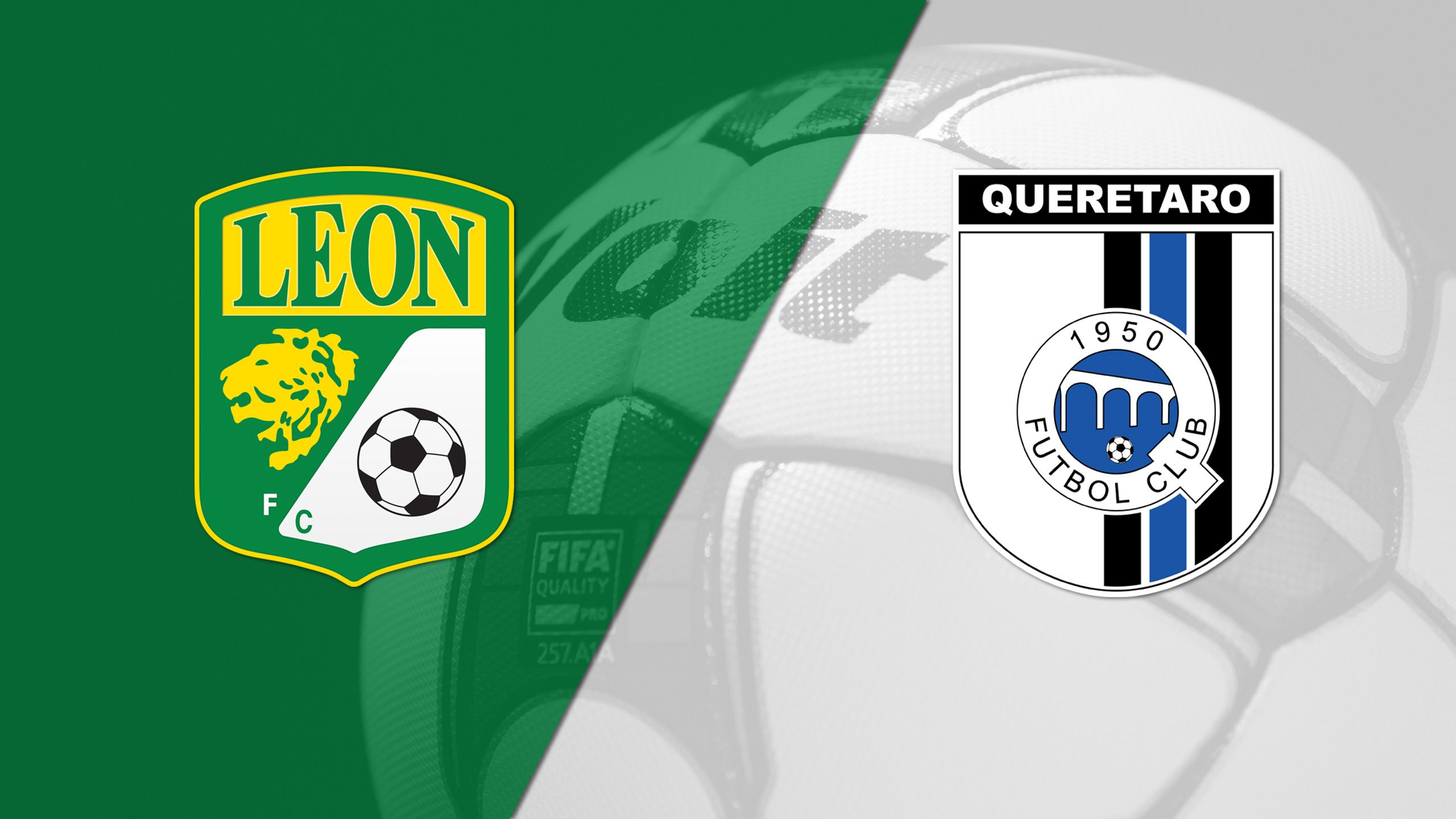 In Spanish - Club León vs. Gallos Blancos de Querétaro (Matchday #8) (Liga MX)