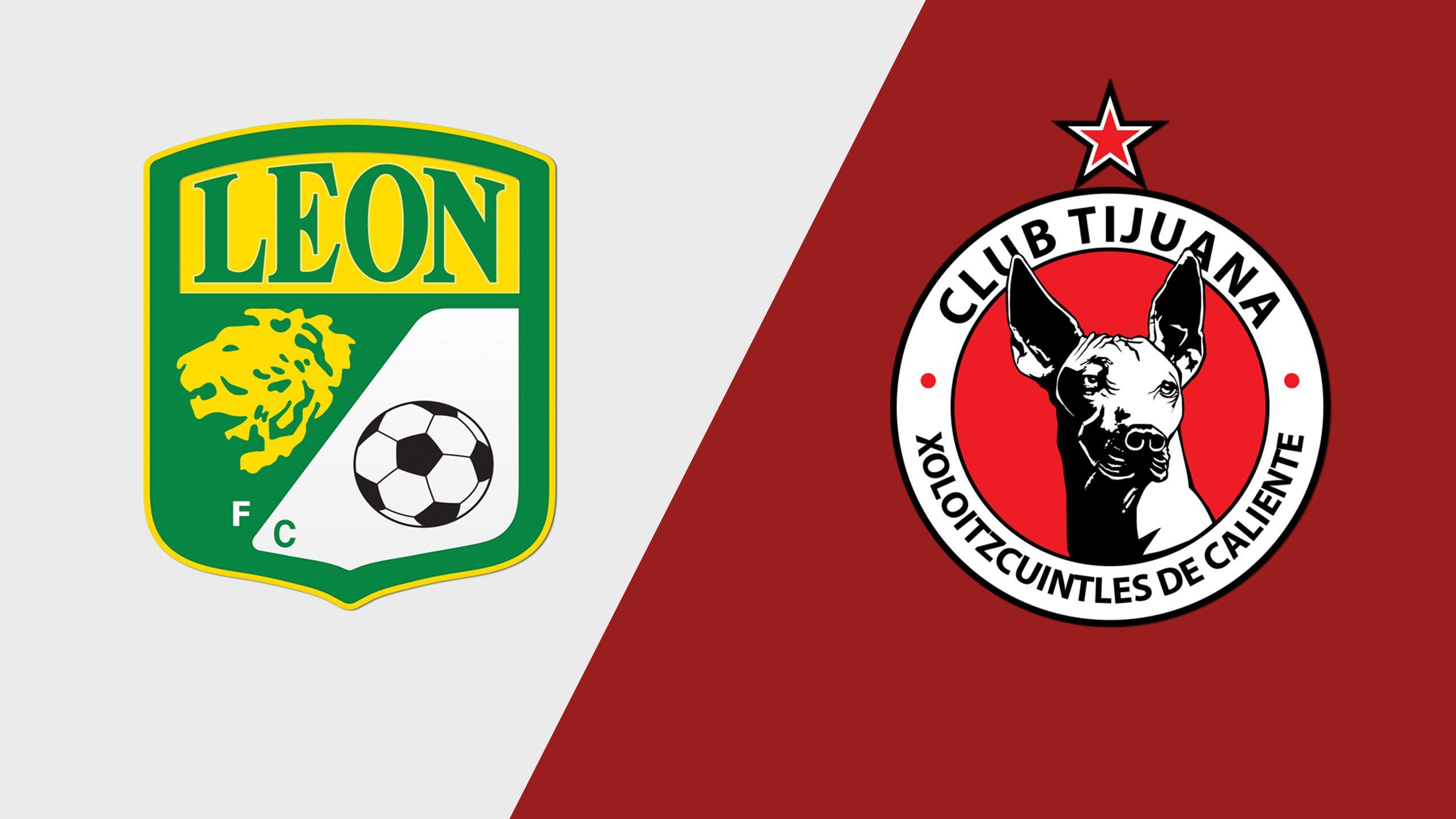 In Spanish - Club León vs. Xolos de Tijuana (Matchday #16) (Liga Bancomer)