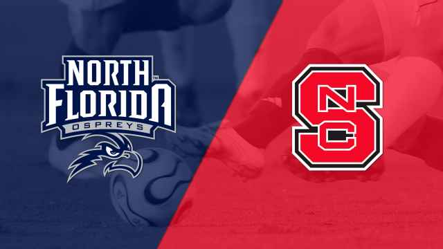 North Florida vs. NC State (M Soccer)