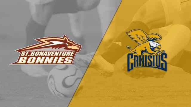 St. Bonaventure vs. Canisius (M Soccer)