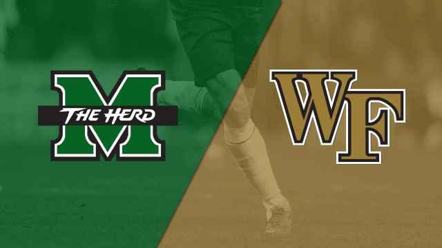 Marshall vs. #7 Wake Forest (M Soccer)