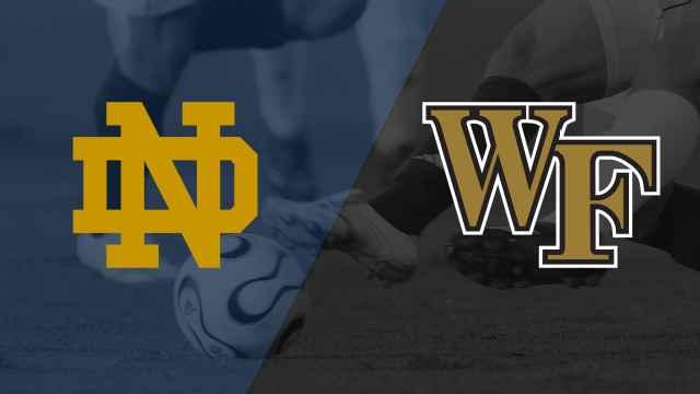 #12 Notre Dame vs. #2 Wake Forest (Quarterfinal) (ACC Men's Soccer Championship)