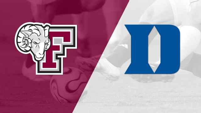Fordham vs. Duke (M Soccer)