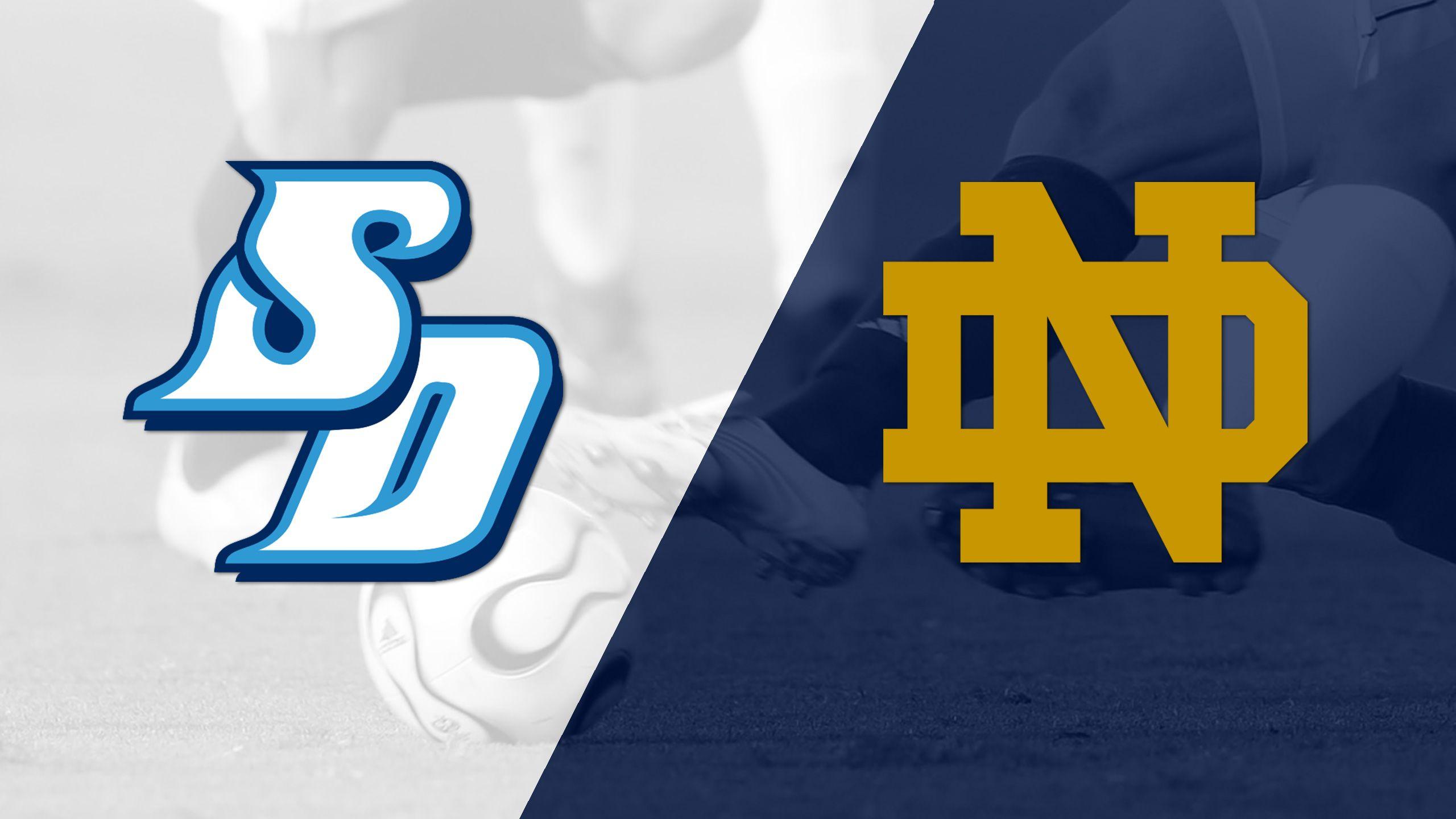 San Diego vs. Notre Dame (M Soccer)