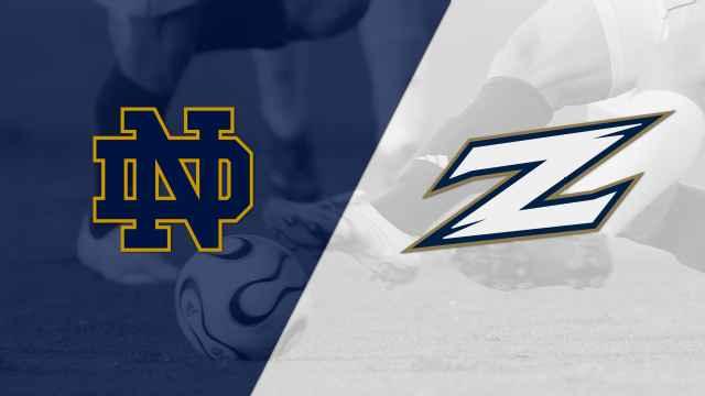 #12 Notre Dame vs. #19 Akron (M Soccer)