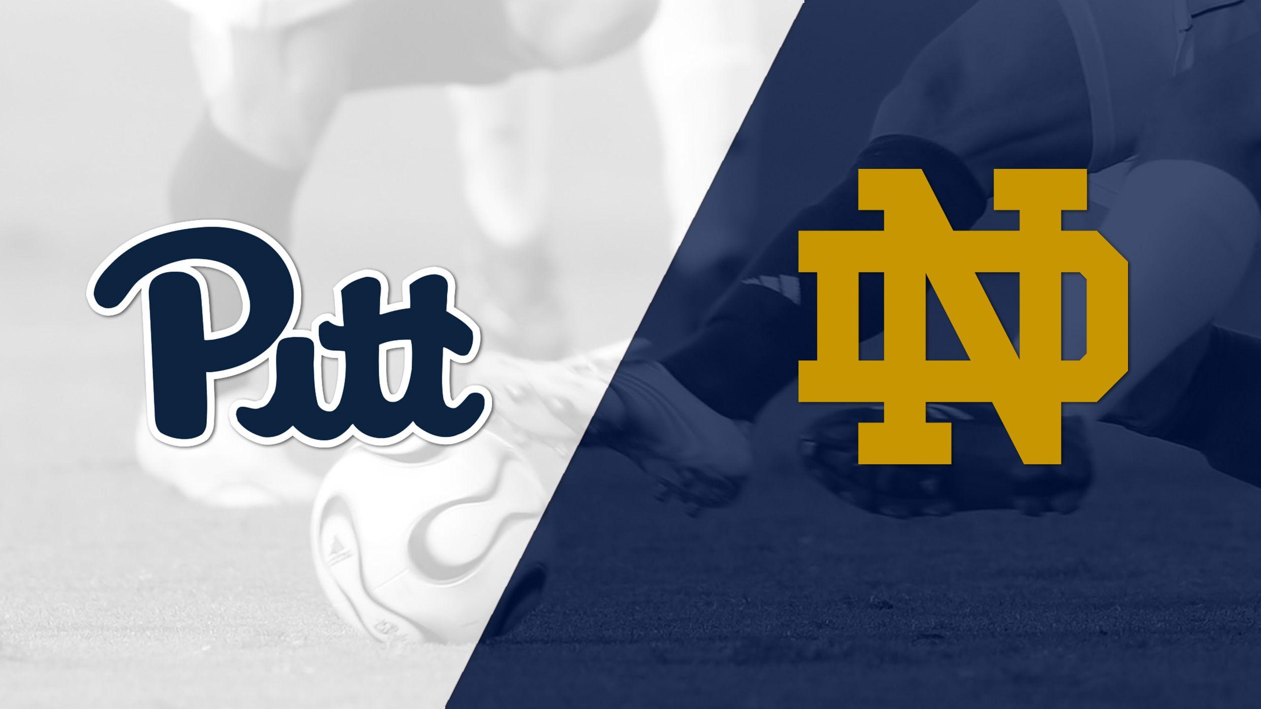 Pittsburgh vs. #7 Notre Dame (M Soccer)