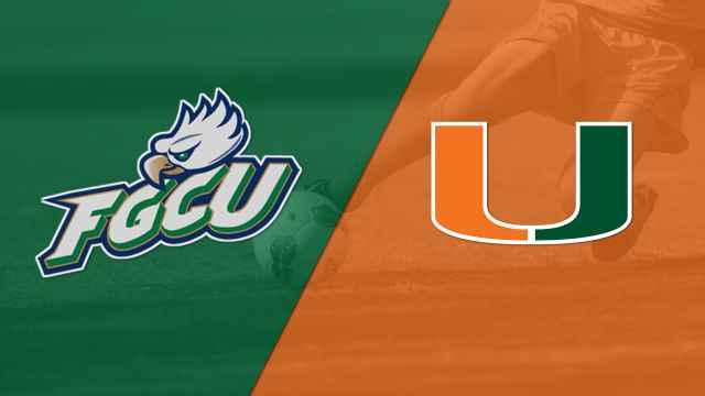 Florida Gulf Coast vs. Miami (FL) (W Soccer)